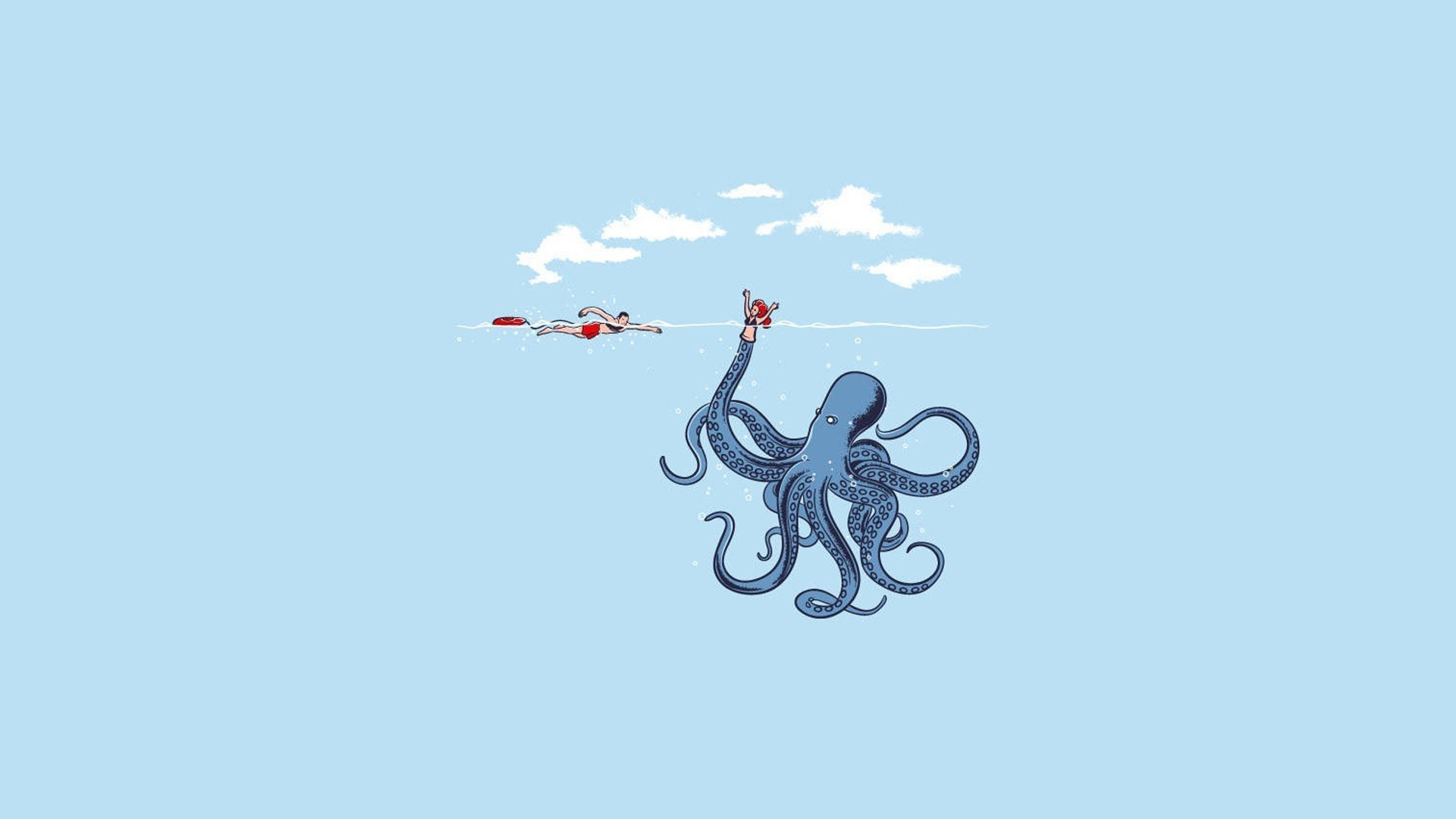 Res: 1920x1080, ... Live Octopus Wallpapers | Octopus Wallpapers Collection ...