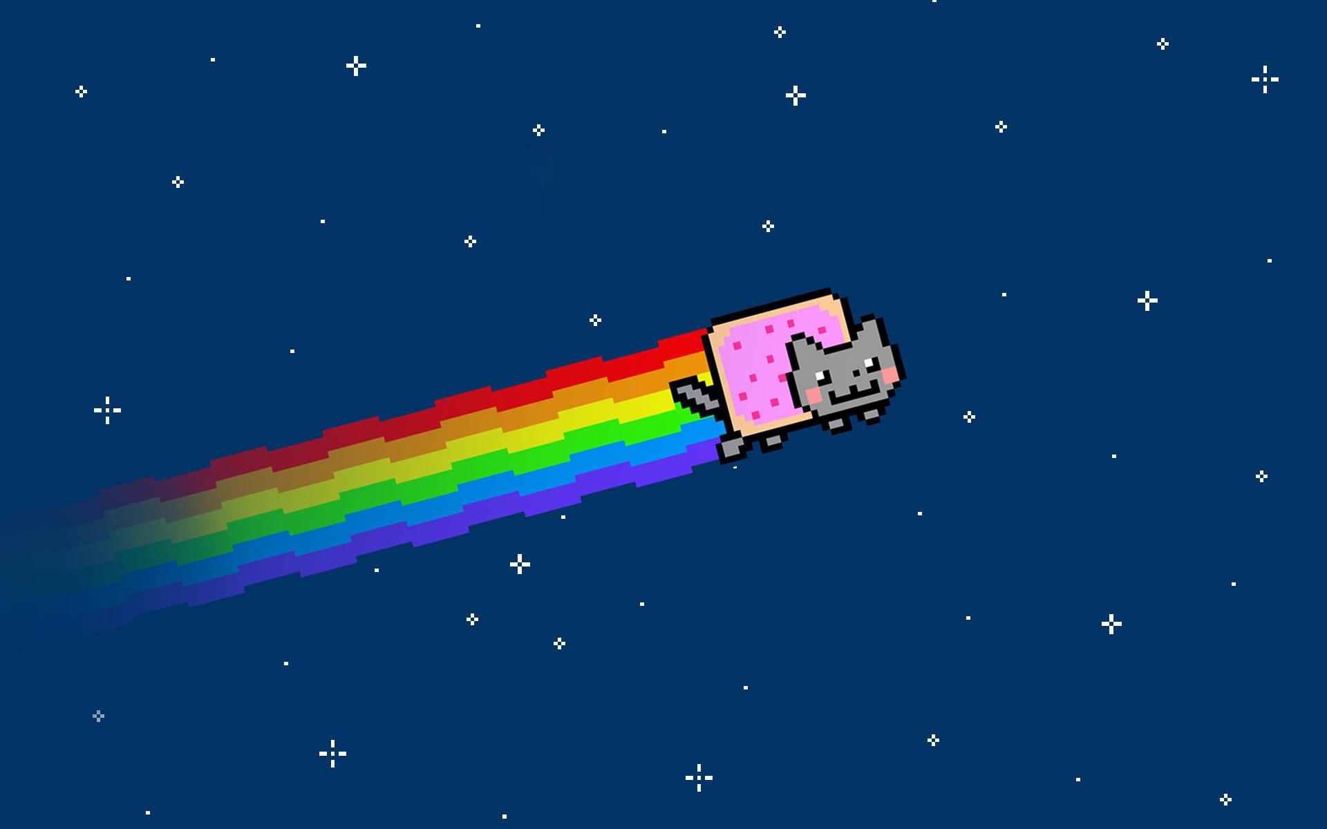 Res: 1920x1200, Preview Nyan Cat Wallpaper. Nyan ...