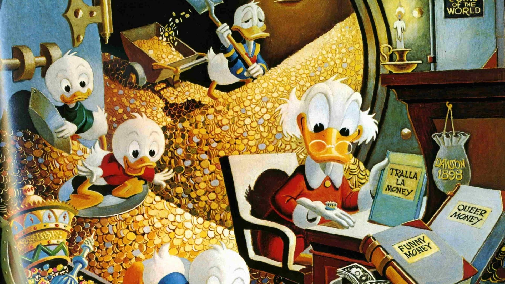 Res: 1920x1080, Call Bark Oilpainting Scrooge mcDuck [] Need #iPhone #6S #Plus # Wallpaper/ #Background for #IPhone6SPlus? Follow iPhone 6S Plus  3Wallpapers/ ...