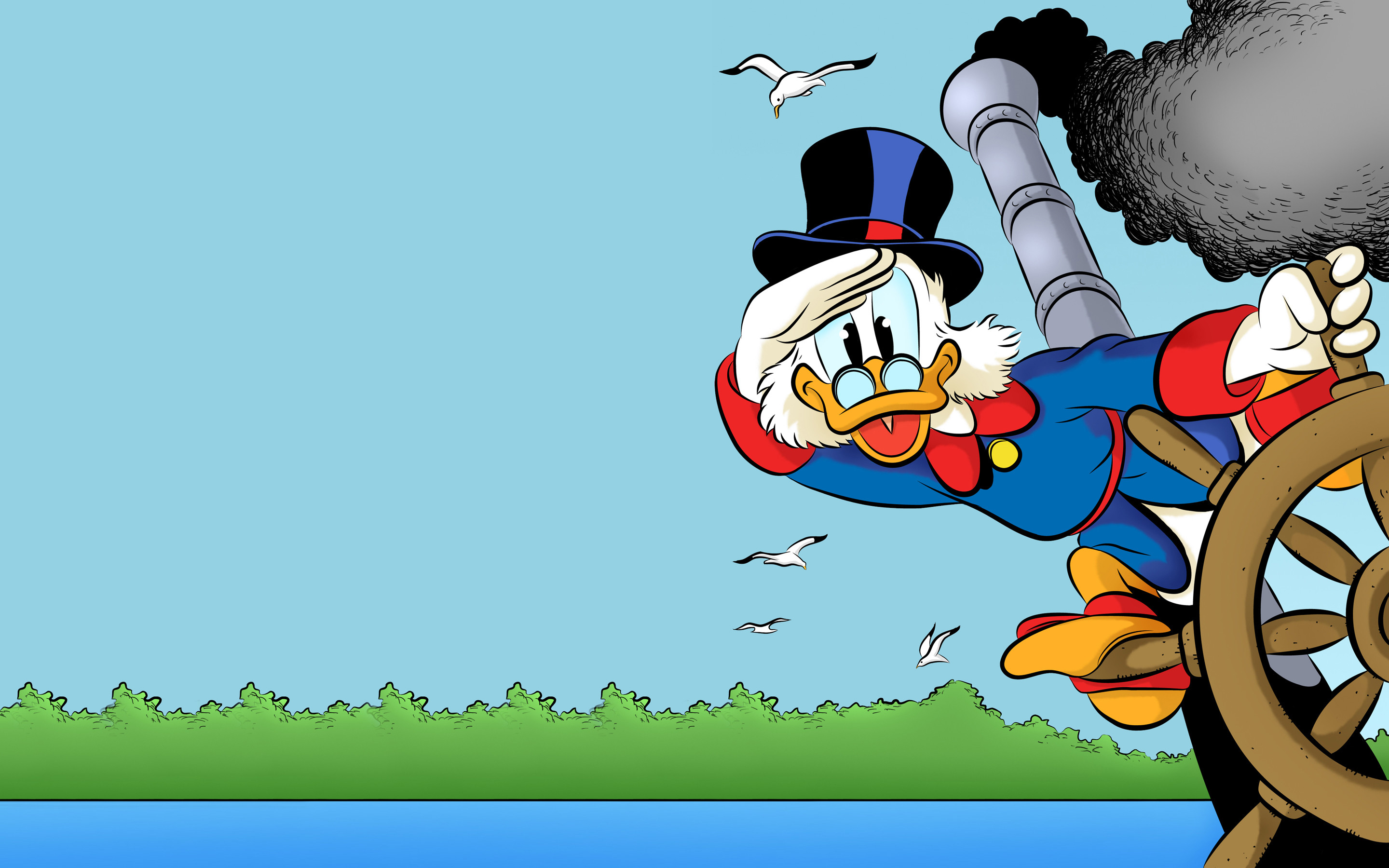 Res: 2880x1800, Comics - The Life and Times of Scrooge McDuck scrooge McDuck Ducktales  Wallpaper