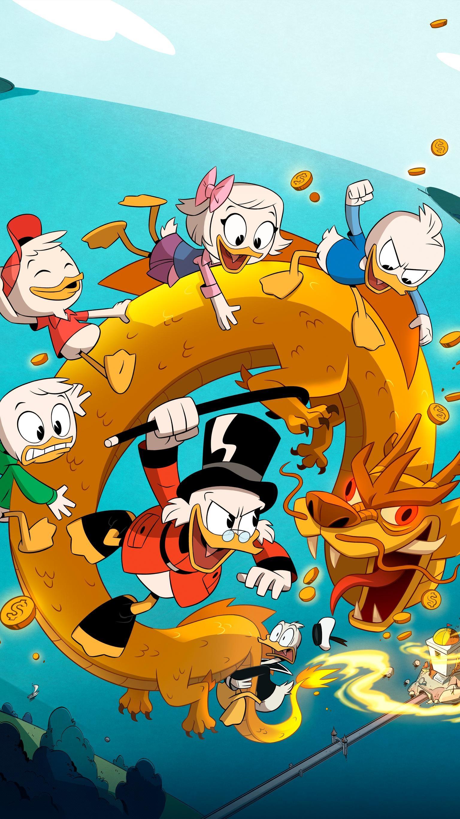 "Res: 1536x2732, Wallpaper for ""DuckTales"" ..."