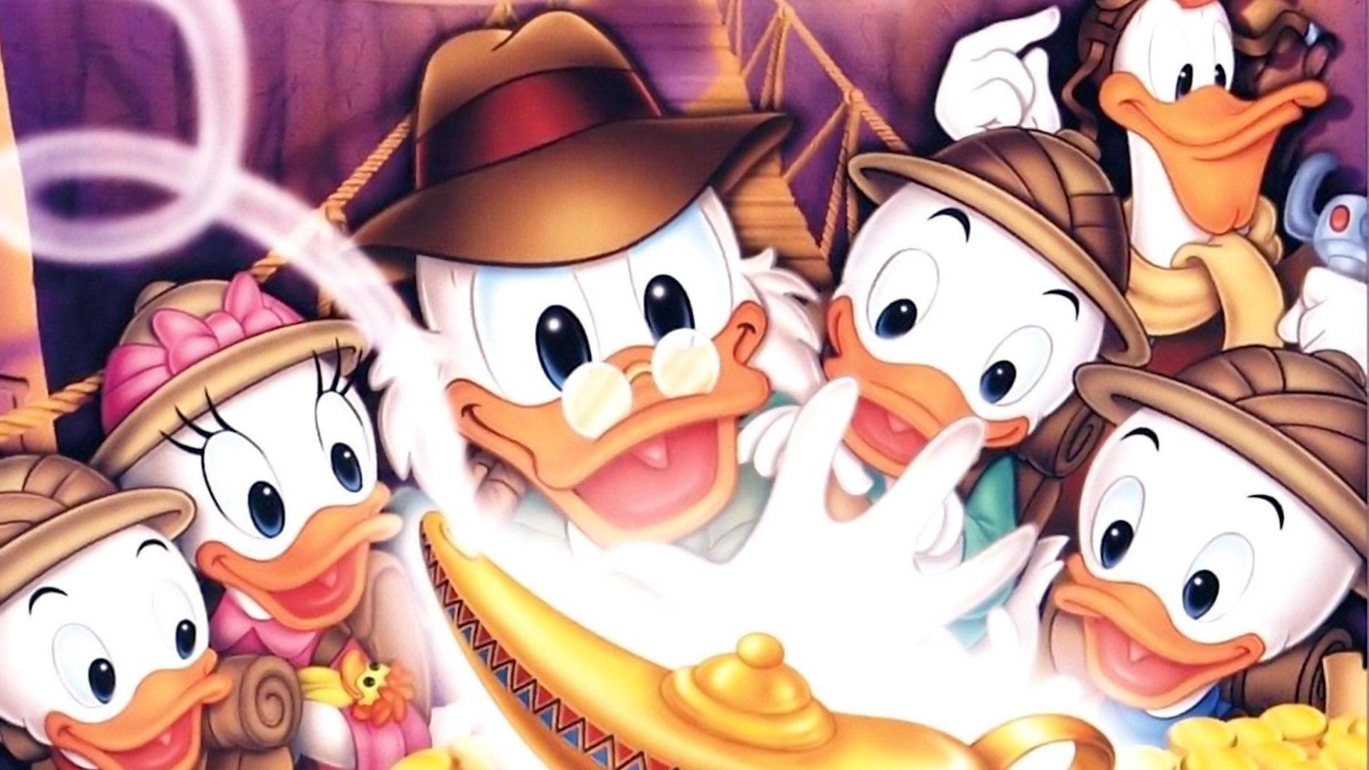 Res: 1920x1080, DuckTales Poster - Uncle Scrooge McDuck Wallpaper (36806867) - Fanpop