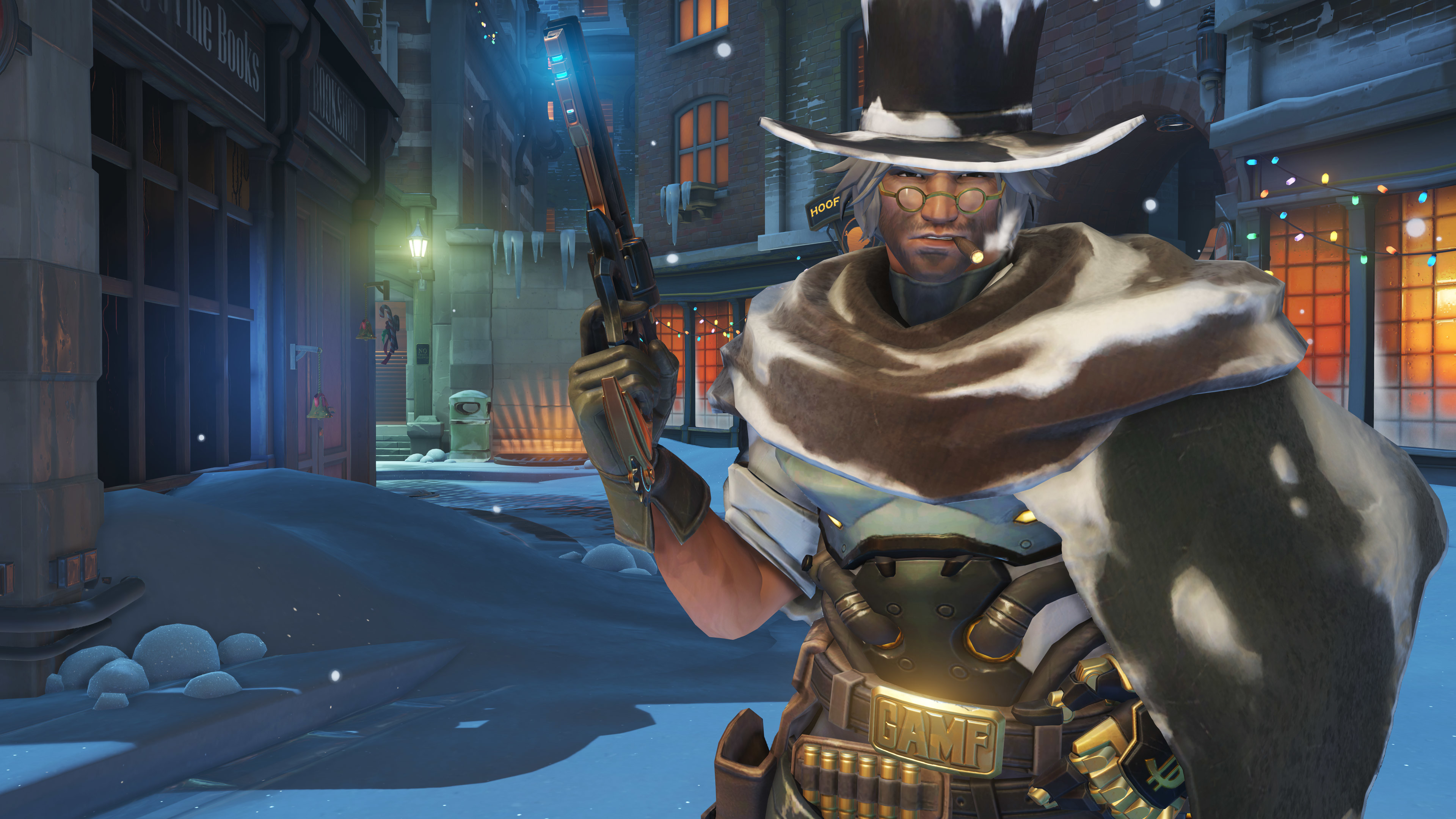 Res: 3840x2160, Overwatch's holiday update arrives with new loot, new game mode - Polygon