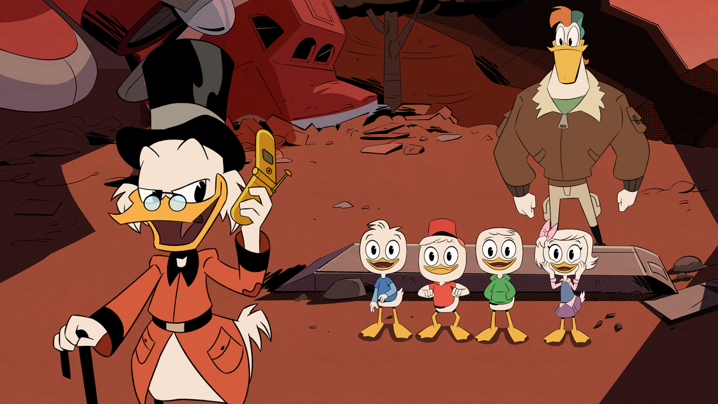 Res: 3000x1688, Will you read the DuckTales FanFic about (Uncle Scrooge), I just .