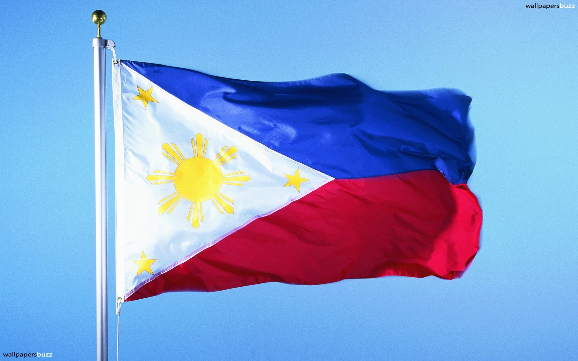 Res: 1920x1200, The flag of the Philippines