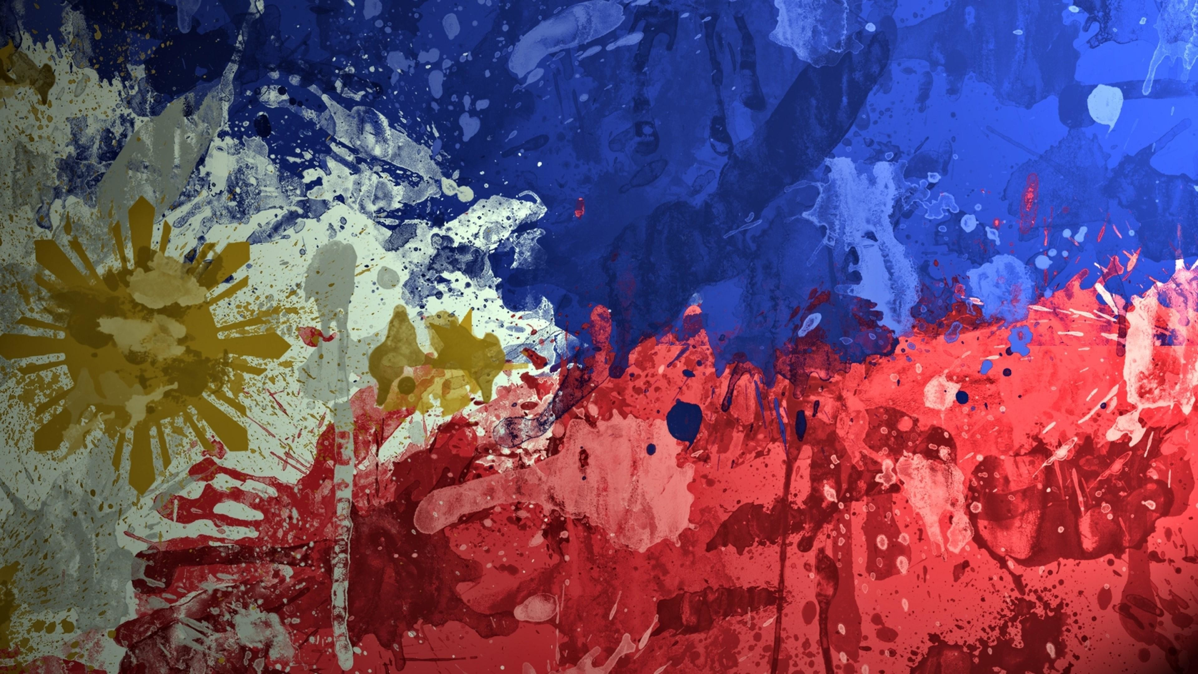 Res: 3840x2160, Philippines Flag Wallpaper | Wallpaper Studio 10 | Tens of thousands HD and  UltraHD wallpapers for Android, Windows and Xbox