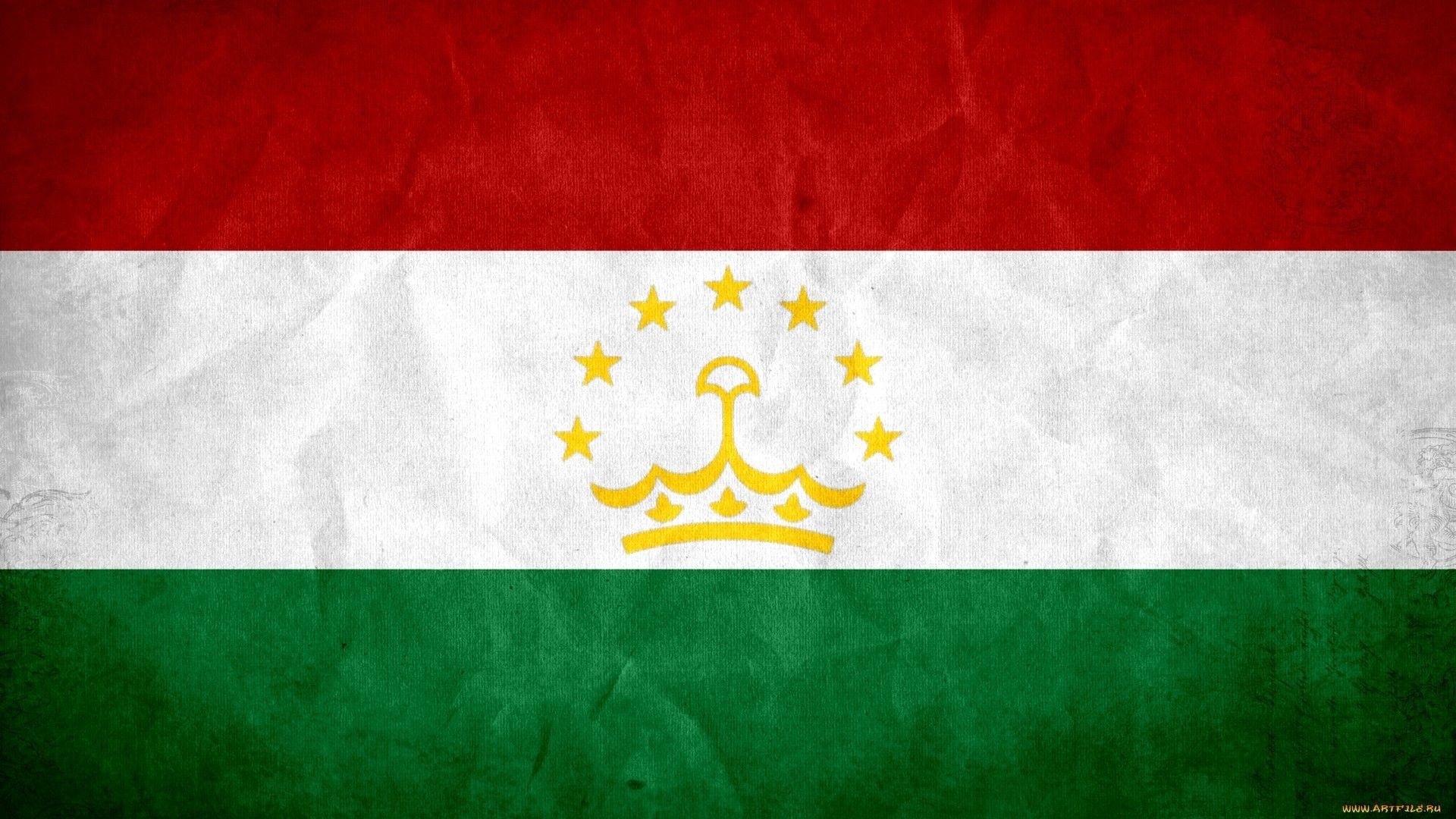 Res: 1920x1080, Flag of Tajikistan wallpaper