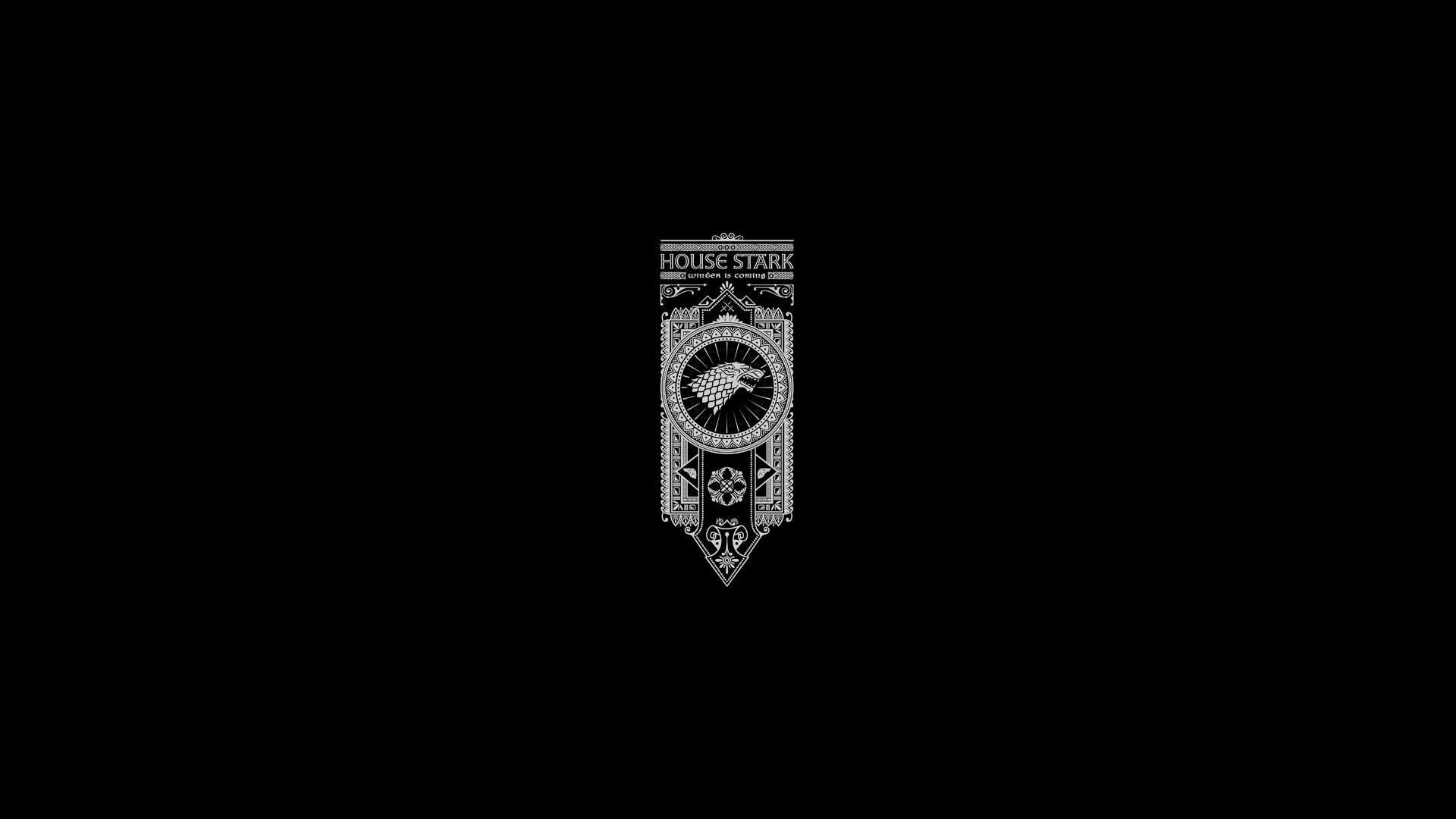 Res: 1920x1080, House Stark Wallpapers Wallpaper Cave