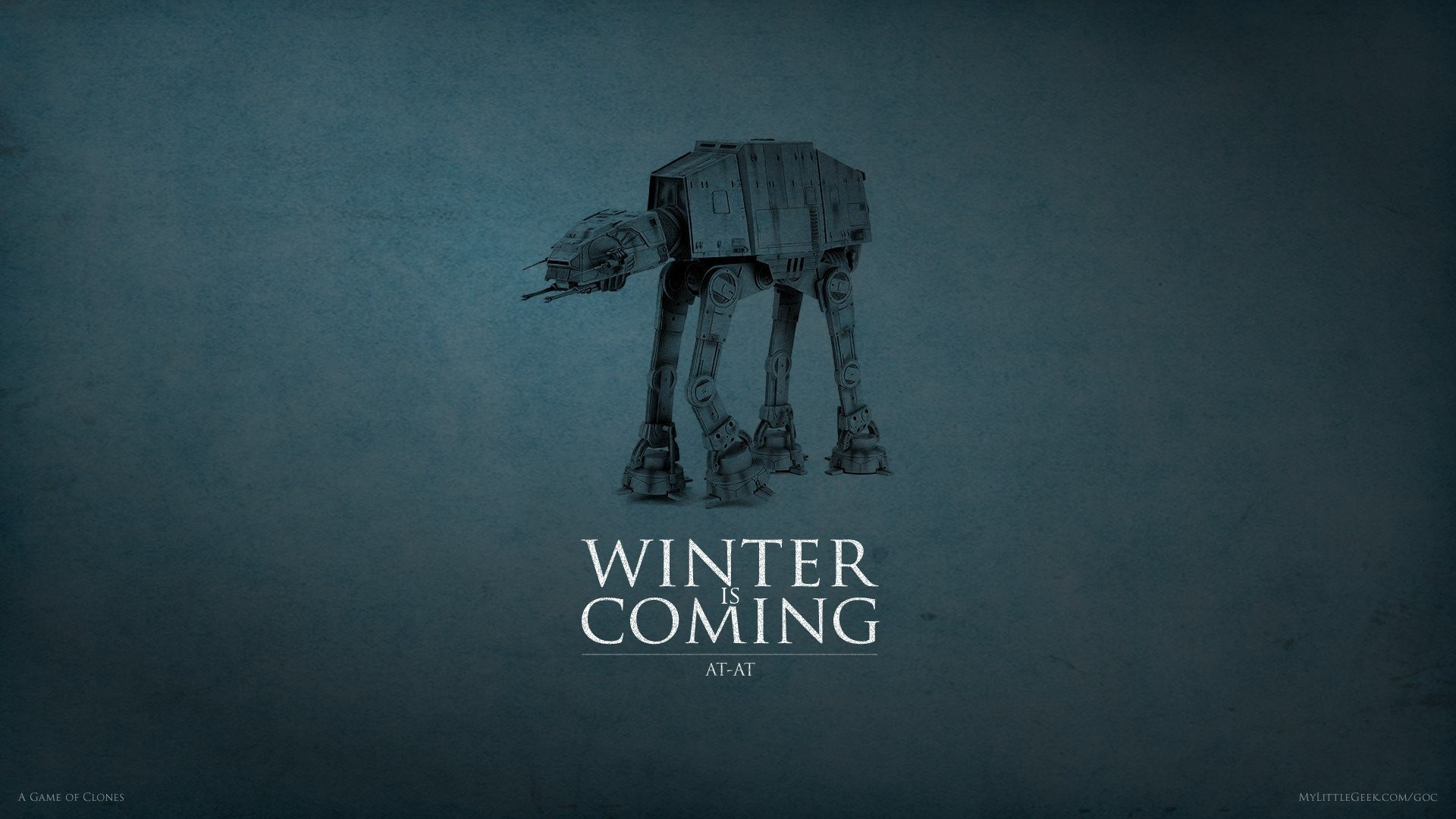 Res: 1920x1080, game of thrones house stark star wars at-at