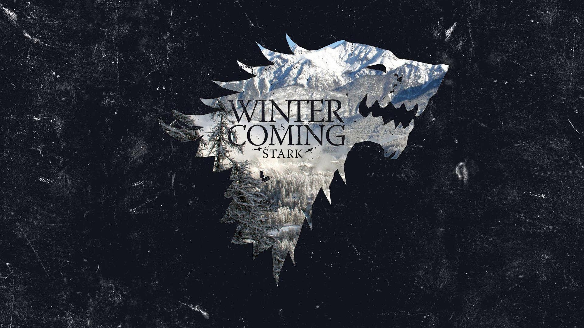 Res: 1920x1080, winter is coming wallpaper  - house stark wallpaper