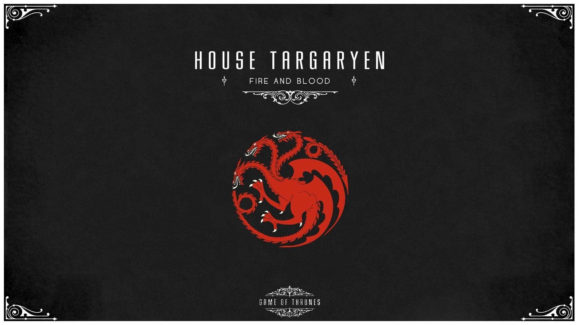 Res: 1920x1080, Game of Thrones House Targaryen wallpaper |  | 301868 | WallpaperUP