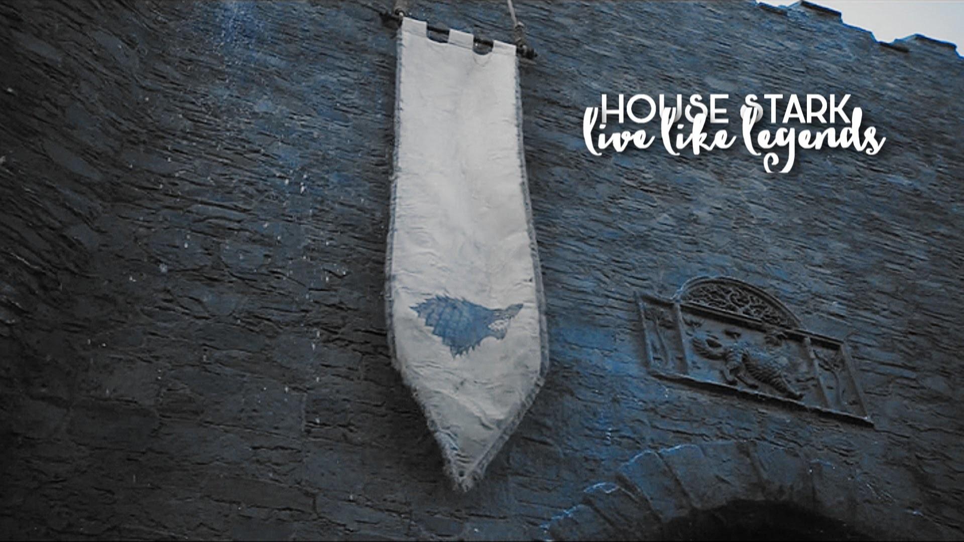 Res: 1920x1080, house stark || live like legends