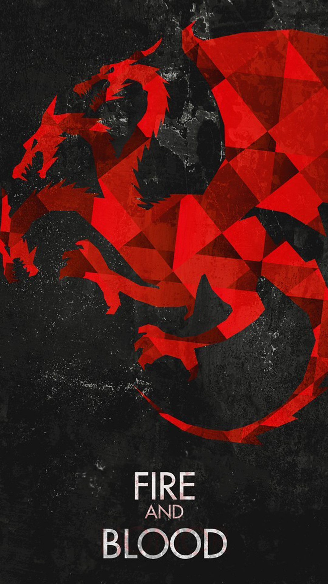 Res: 1080x1920, Fire And Blood Game Of Thrones House Targaryen Dragons Android Wallpaper ...