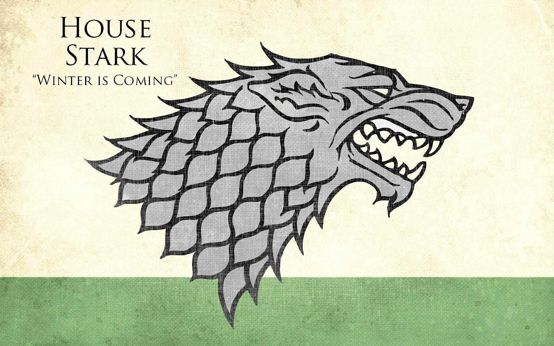 Res: 1920x1200, game of thrones house stark wolves  wallpaper Art HD Wallpaper