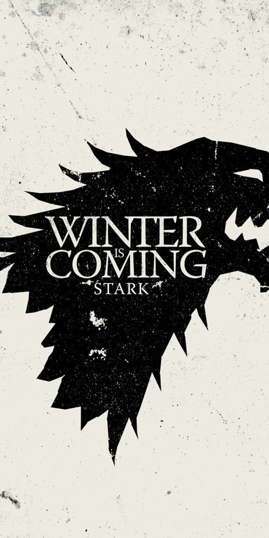 Res: 1080x2160, Winter Is Coming, House Stark, Sigil, Game Of Thrones, Tv Series