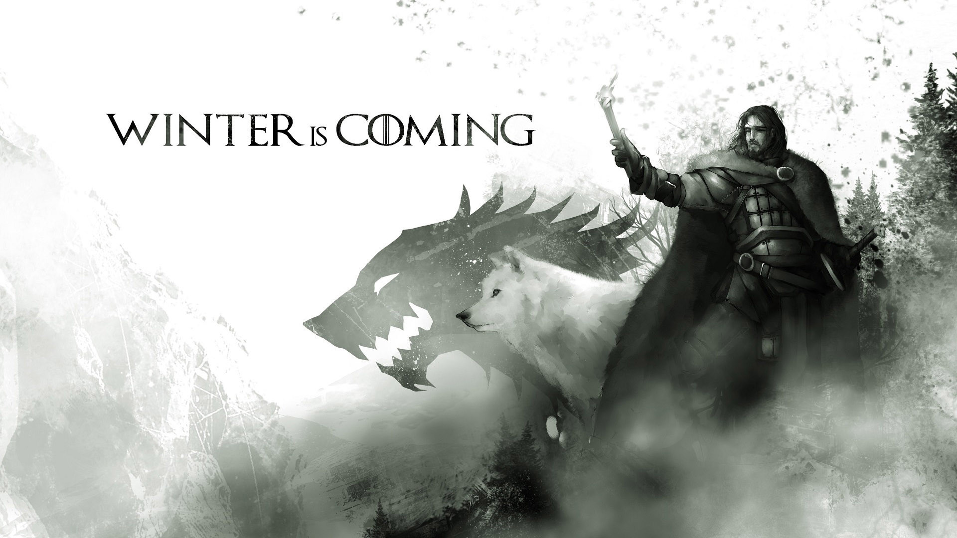Res: 1920x1080, House Stark Game of Thrones wallpaper 1441733