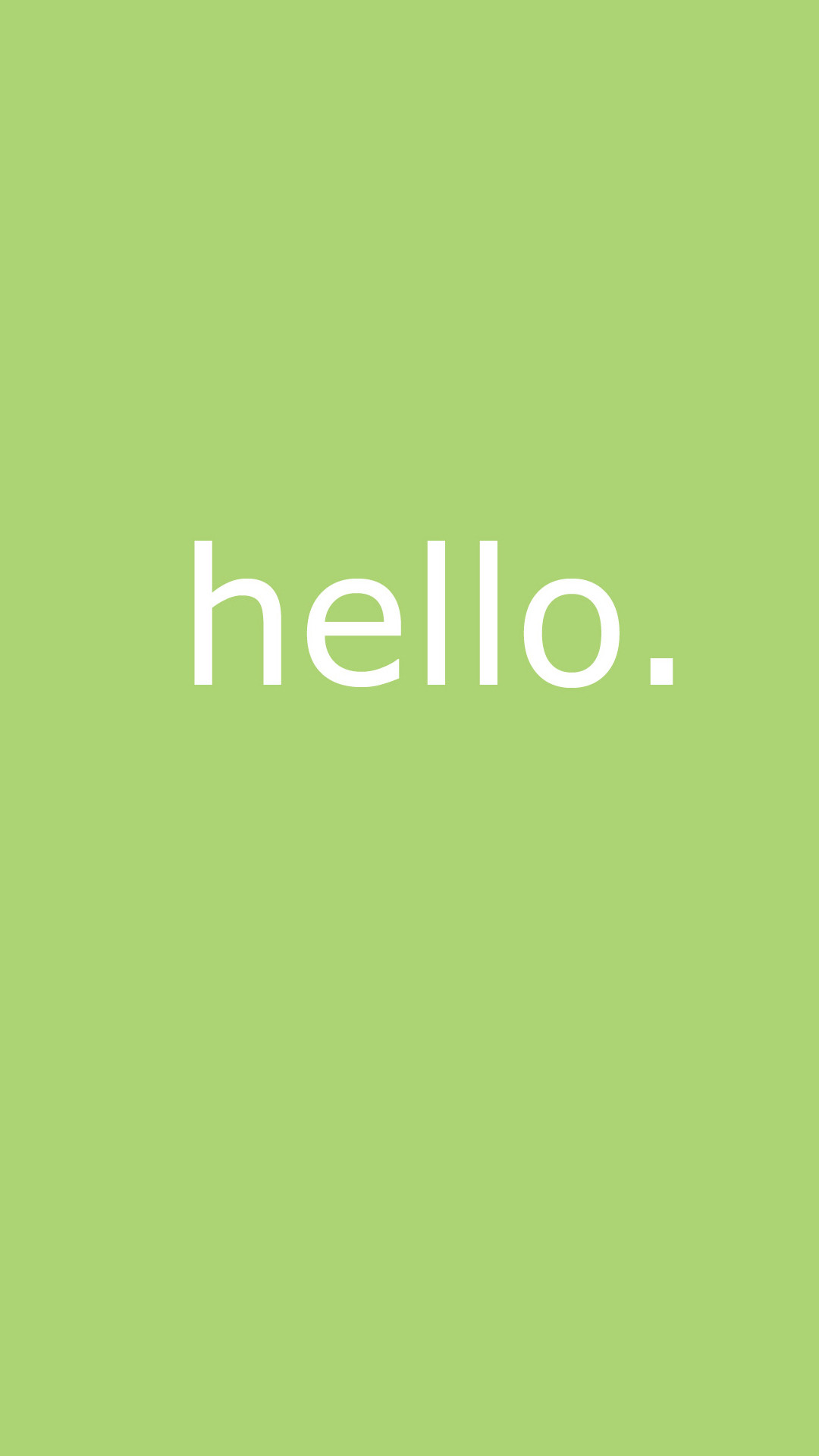 Res: 1080x1920, Cute Simple Hello Message Android Wallpaper ...