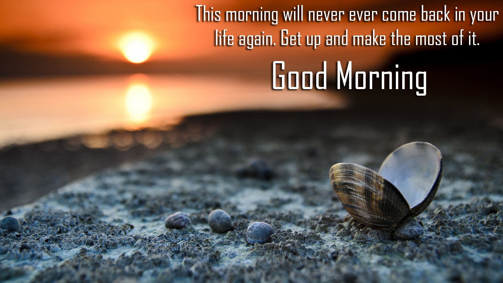 Res: 1920x1080, Do It Good Morning Message Wallpaper 26782