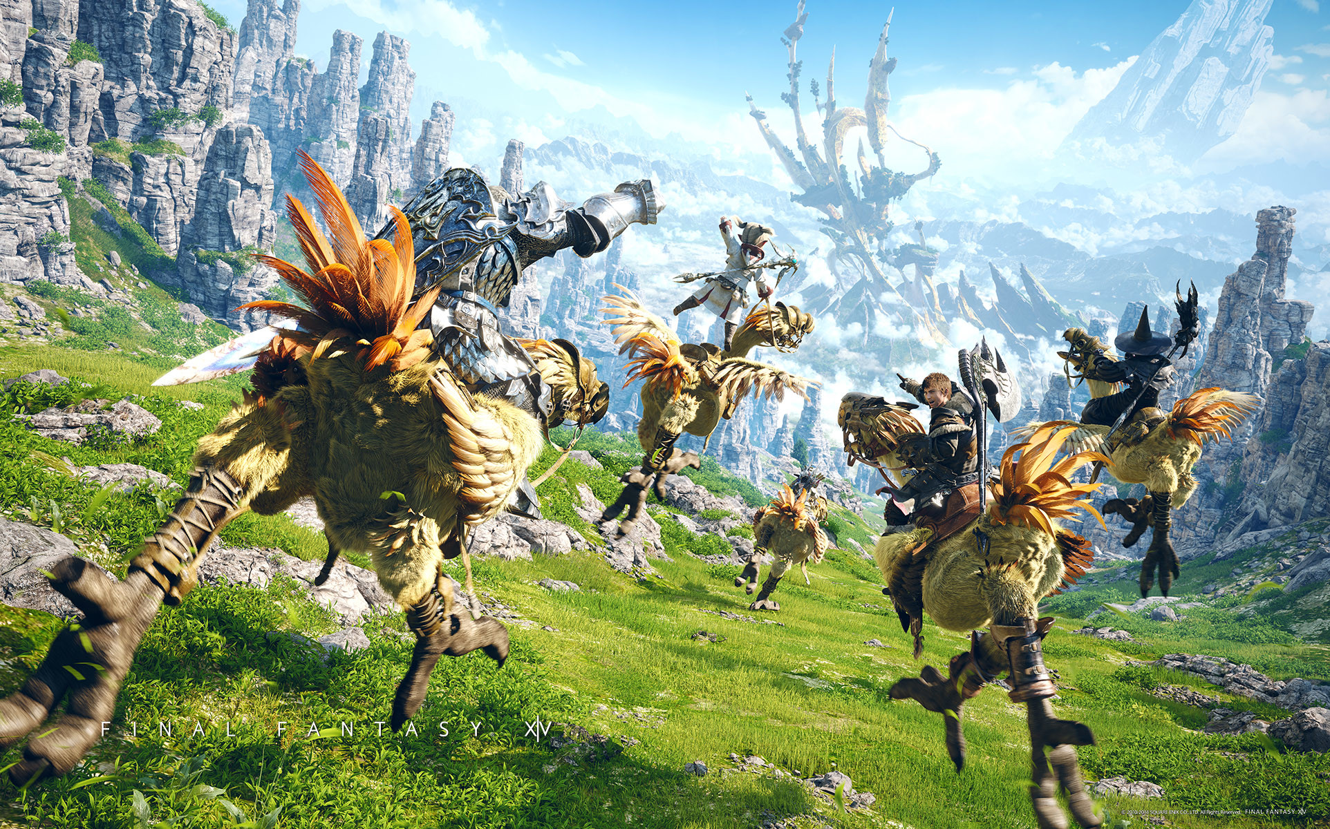 Res: 1924x1200, 12 Chocobo (Final Fantasy) HD Wallpapers | Hintergründe - Wallpaper Abyss