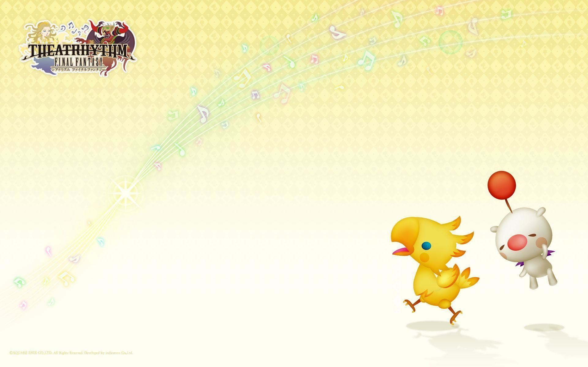 Res: 1920x1200, Images For > Final Fantasy Chocobo Wallpaper