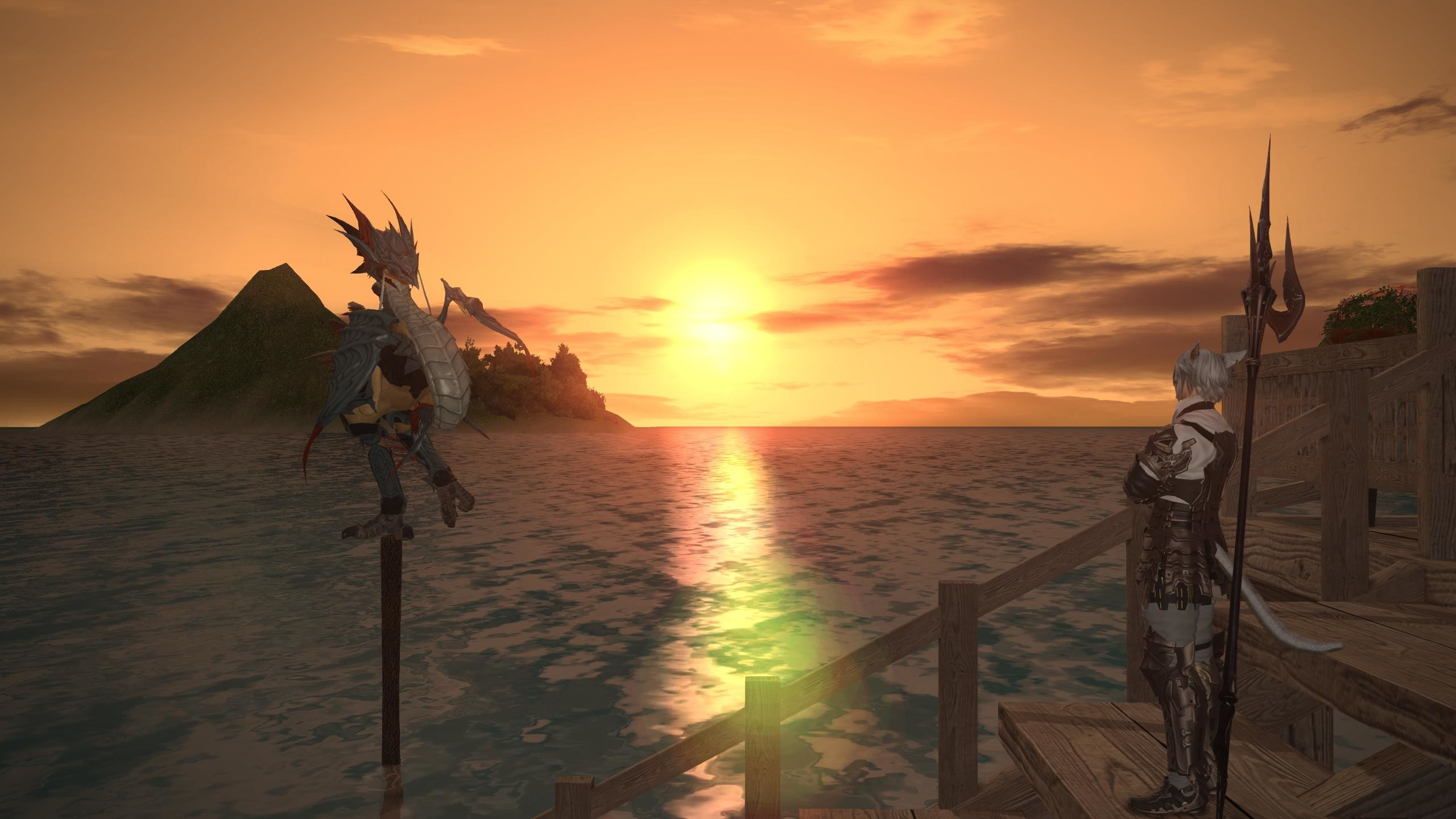 Res: 2560x1440, [Screenshot]Chocobo raising makes for some excellent wallpaper  opportunities [1440p] ...