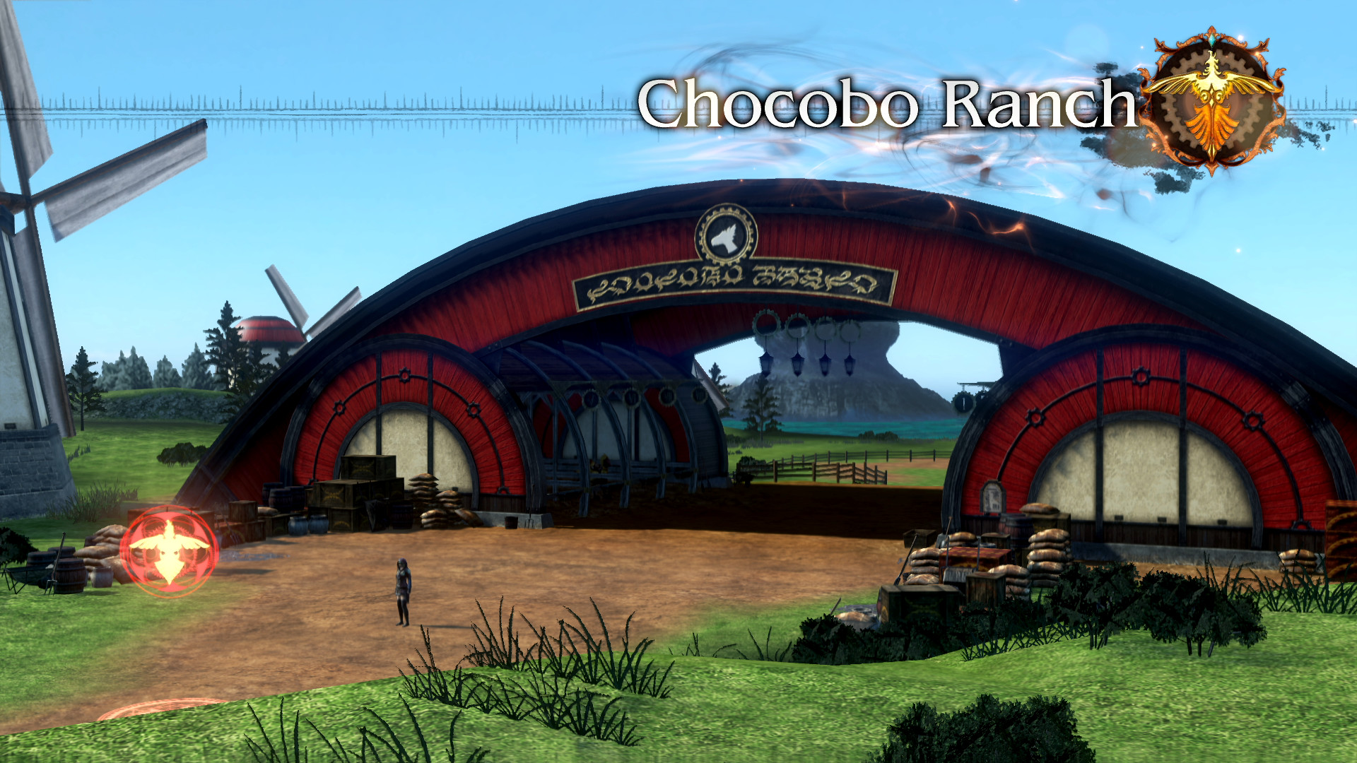 Res: 1920x1080, FFT0 Chocobo Ranch