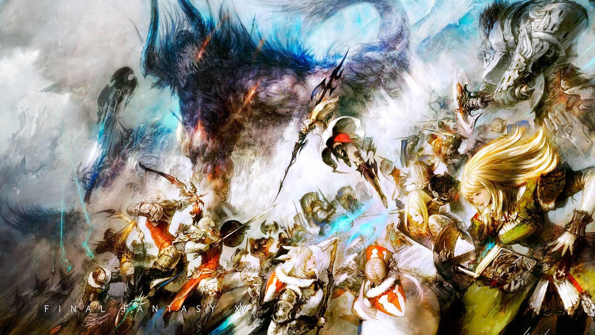 Res: 1920x1080, final fantasy 14 wallpaper widescreen final fantasy 14 wallpaper fj7n67j