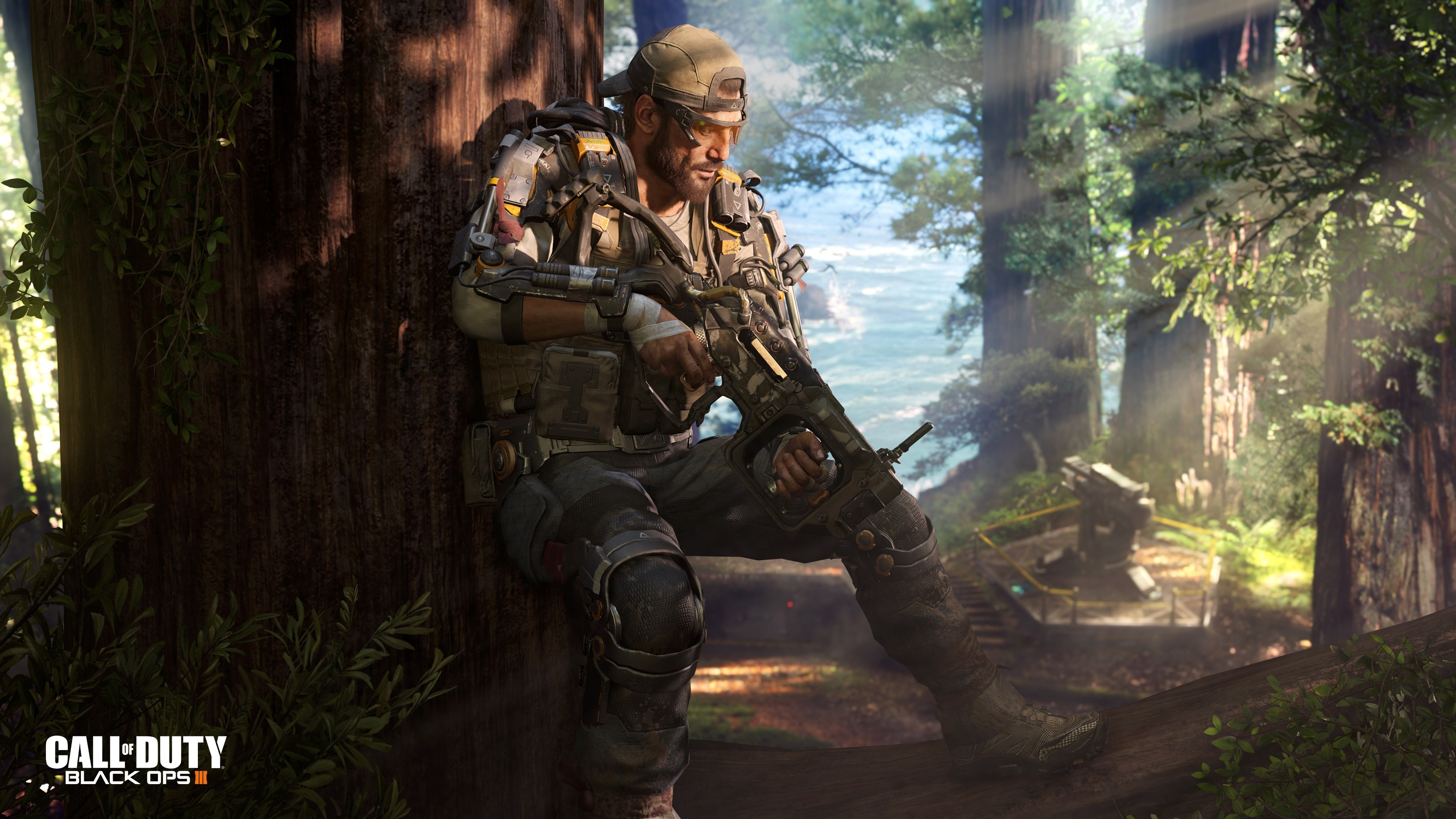 Res: 3840x2160, Call of Duty Black Ops 3 Specialist Nomad