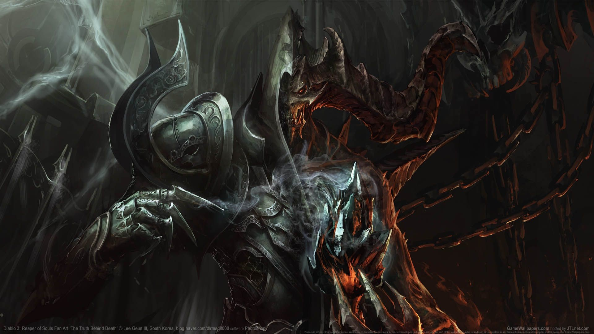 Res: 1920x1080, Diablo 3: Reaper of Souls Fan Art wallpapers or desktop backgrounds