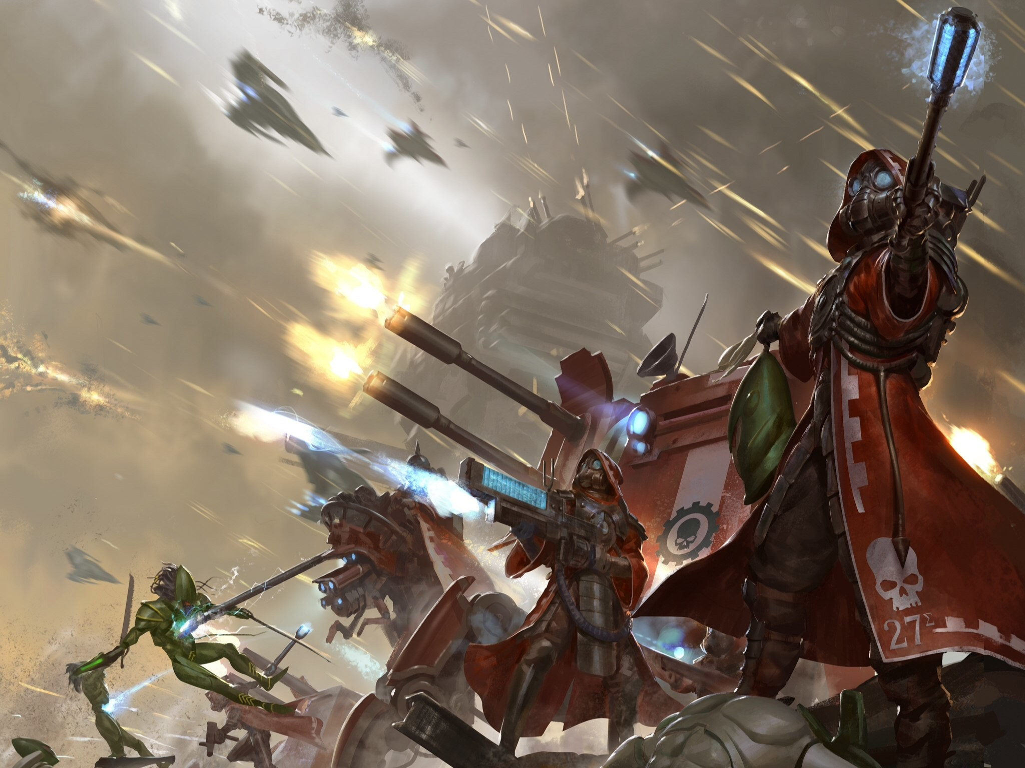 Res: 2048x1536, warhammer 40k tau wallpaper #504472