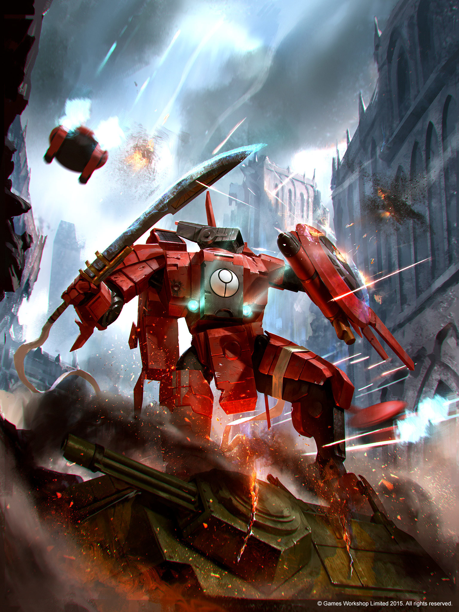 Res: 1536x2048, architecture battle battlesuit battlesuit_crisis commander drone o'shovah tau  wallpaper