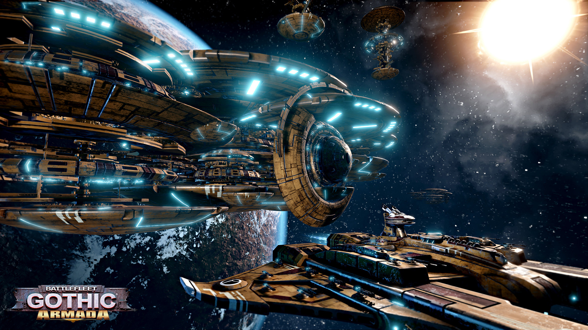 Res: 1920x1080, Battlefleet Gothic Armada - Das Sternenreich der Tau DLC [PC Code - Steam]:  Amazon.de: Games