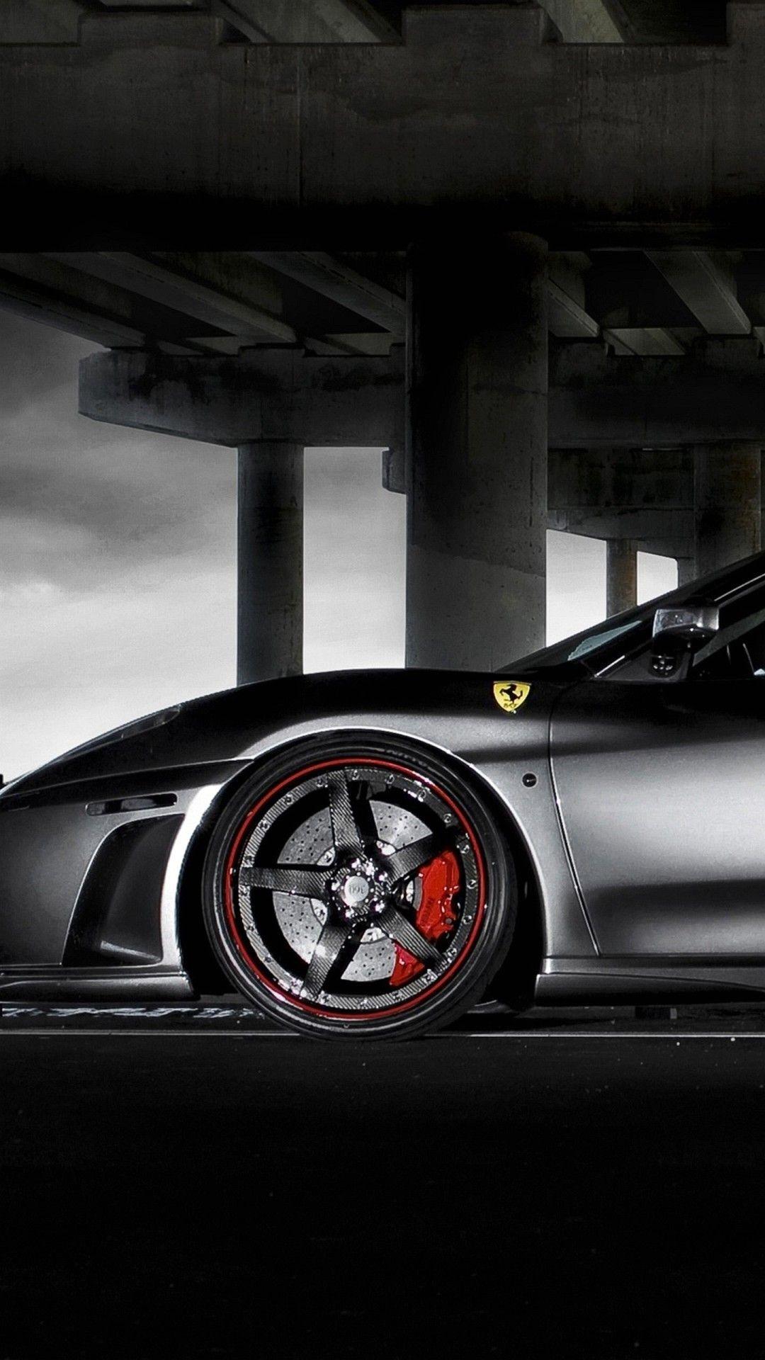 Res: 1080x1920, Wallpaper Iphone 6 Plus Ferrari Black 5 5 Inches - 1080 x 1920 .
