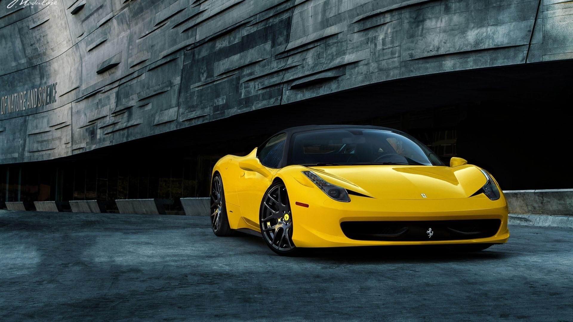 Res: 1920x1080, Hd Wallpaper Ferrari