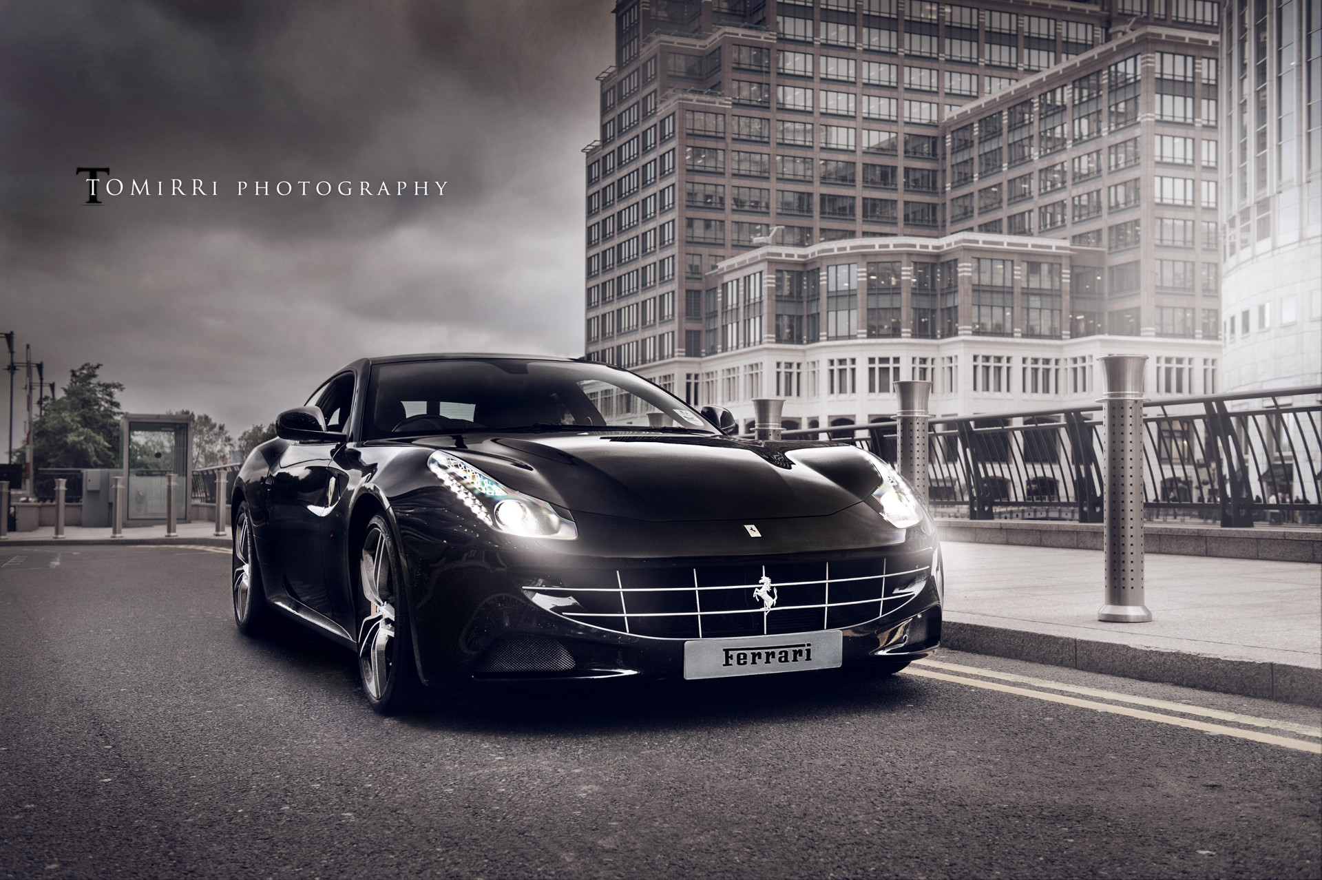 Res: 1920x1278, Black Ferrari FF Photoshoot By Tomirri Photography Wallpapers