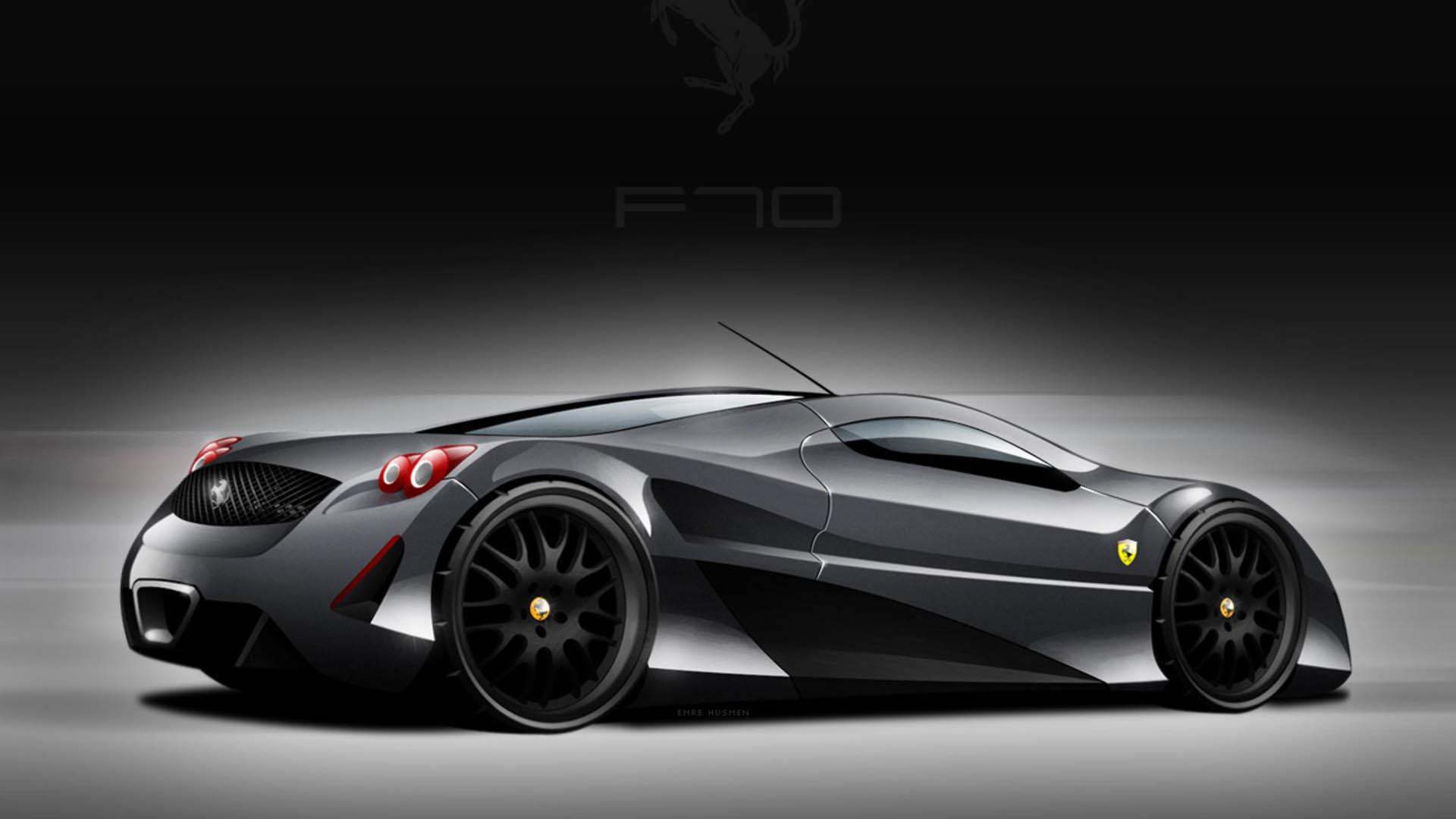 Res: 1920x1080, Black Ferrari Cars Wallpapers Group (64+)