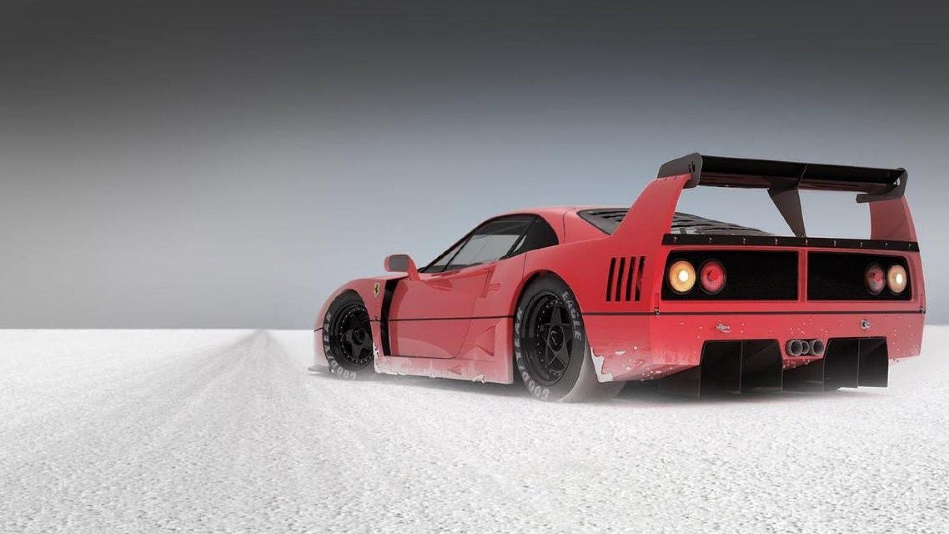 Res: 1920x1080, Black Ferrari F40 Wallpaper Ferrari f40 wallpaper
