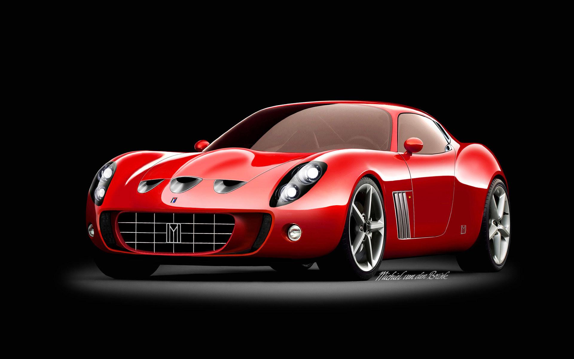 Res: 1920x1200, Red And Black Ferrari Wallpaper 16 Cool Wallpaper