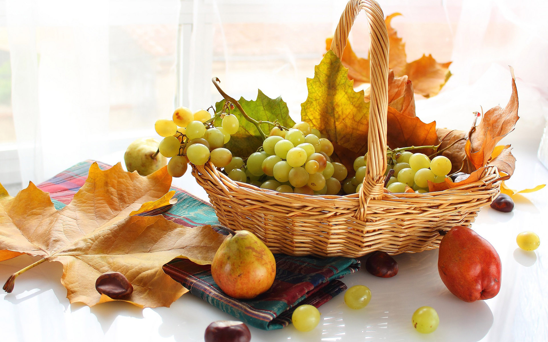 Res: 1920x1200, Fruits In The Basket HD Wallpaper