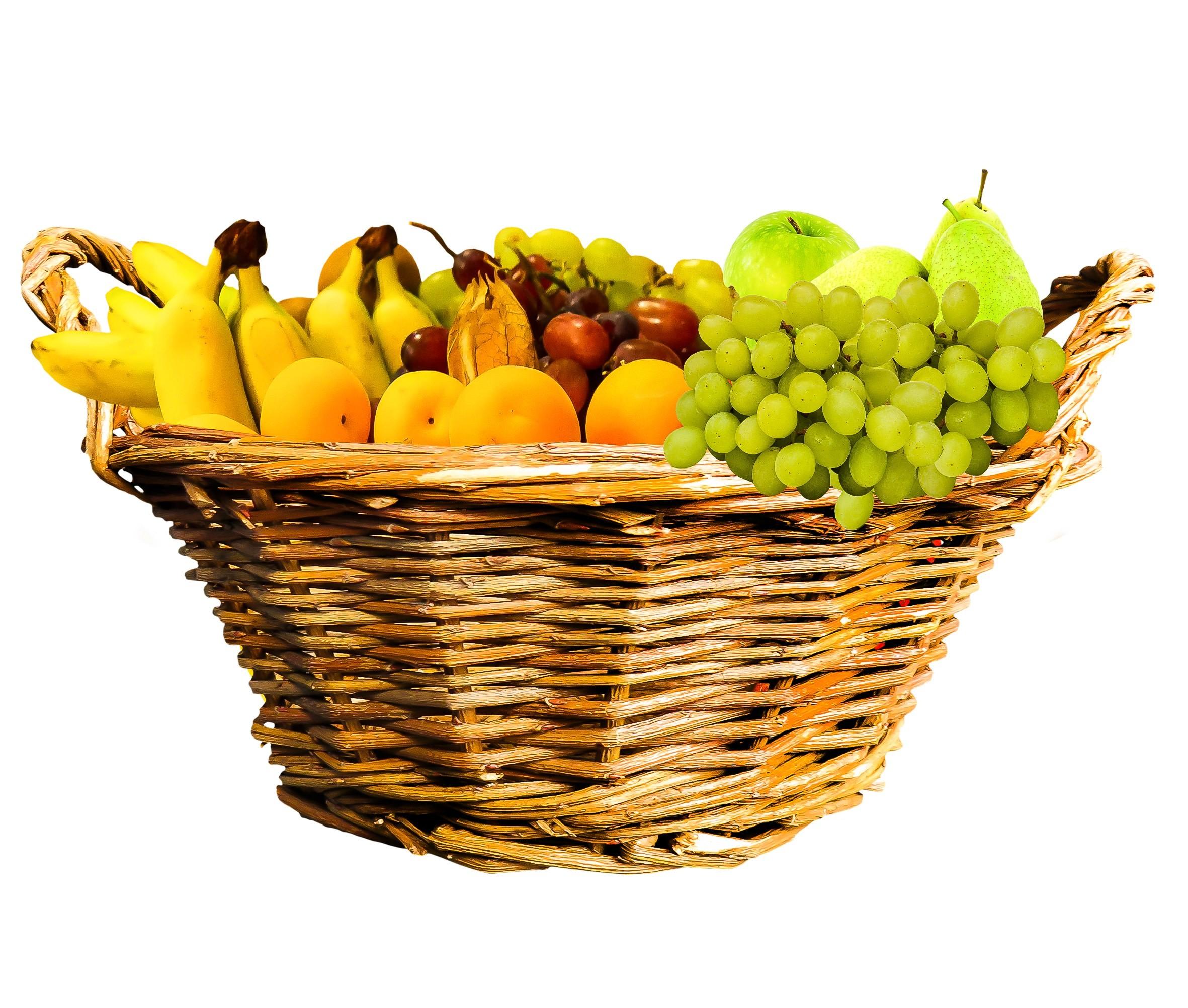 Res: 2362x2005, # #eat #food #fruit #fruit basket #basket #fruits wallpaper and background #107004