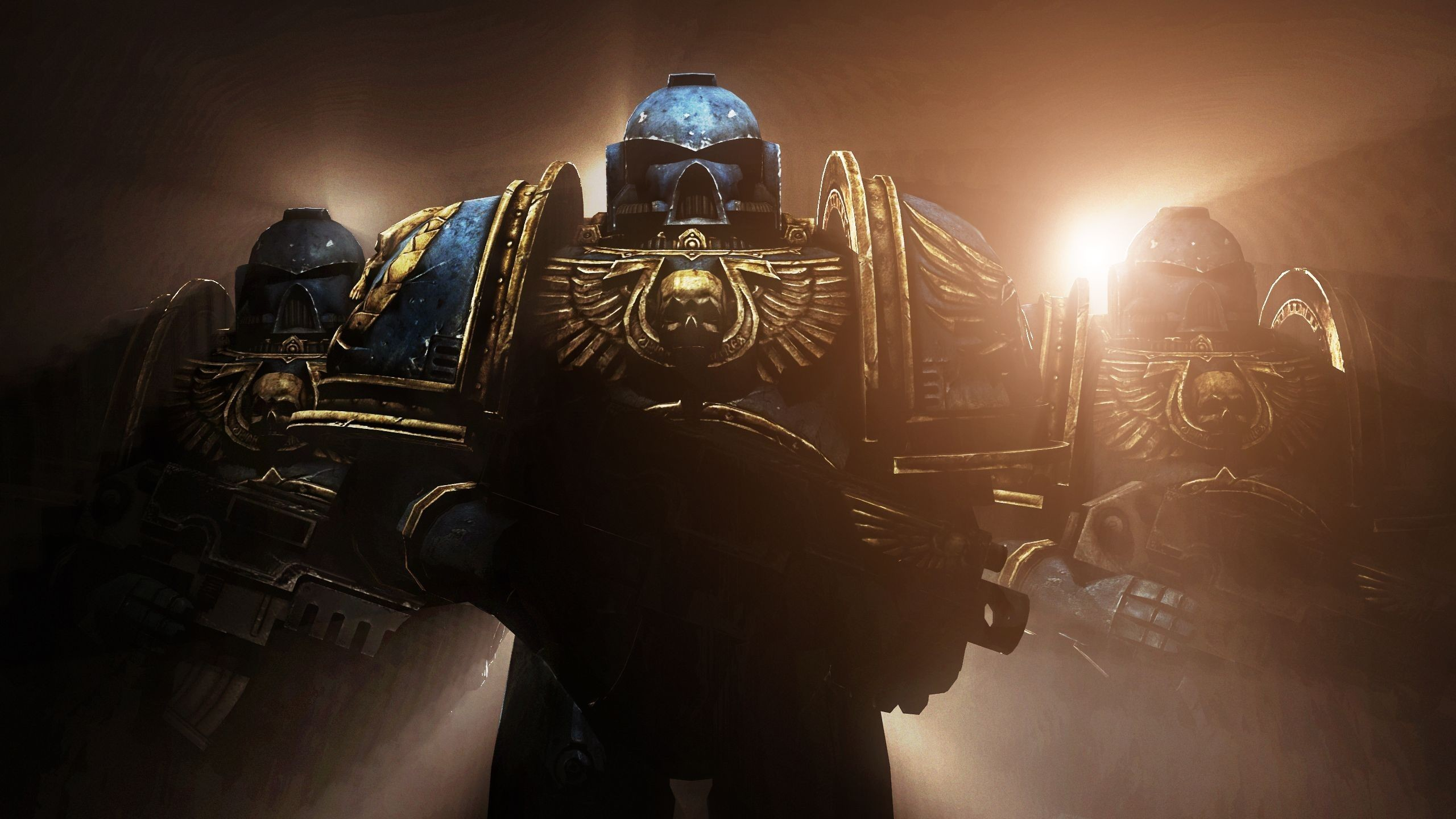 Res: 2560x1440, Space Marines Wallpaper Space marine illustration