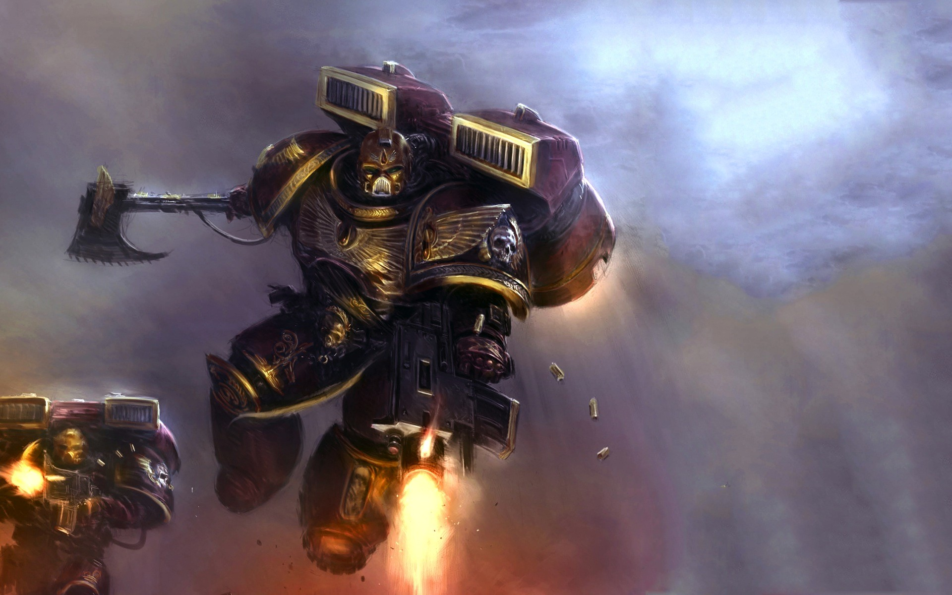 Res: 1920x1200, wallpaper space marines