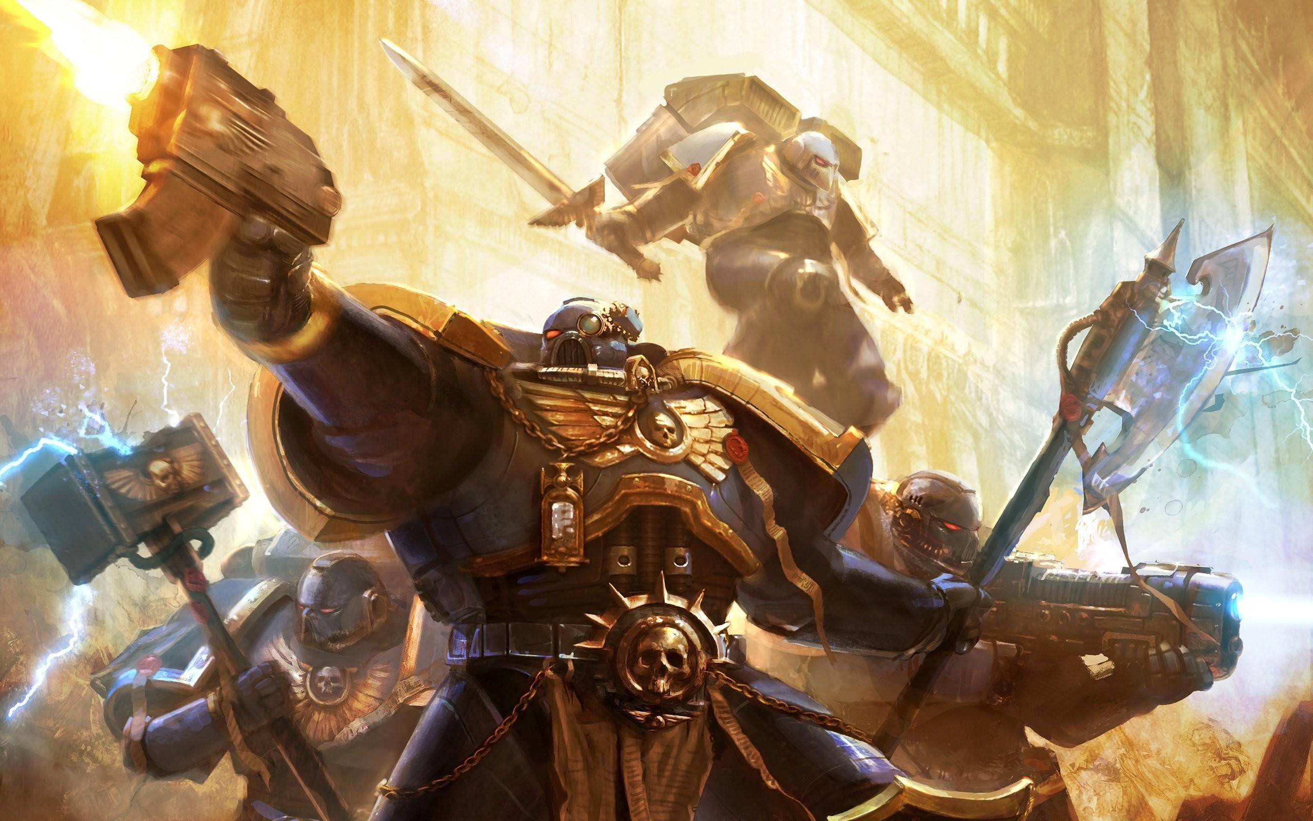 Res: 2560x1600, Wallpaper zu Warhammer 40.000: Space Marine herunterladen