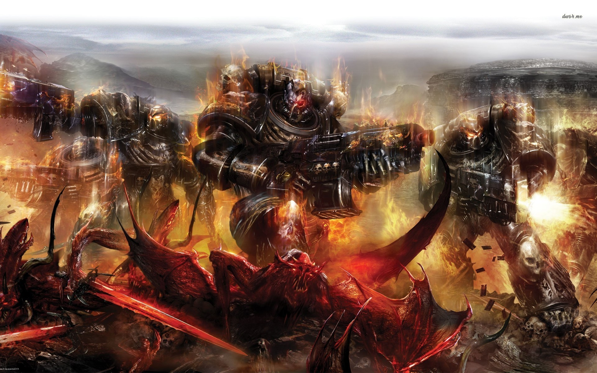 Res: 1920x1200, Warhammer Space Marine Wallpaper HD Resolution - Wickedsa.com src
