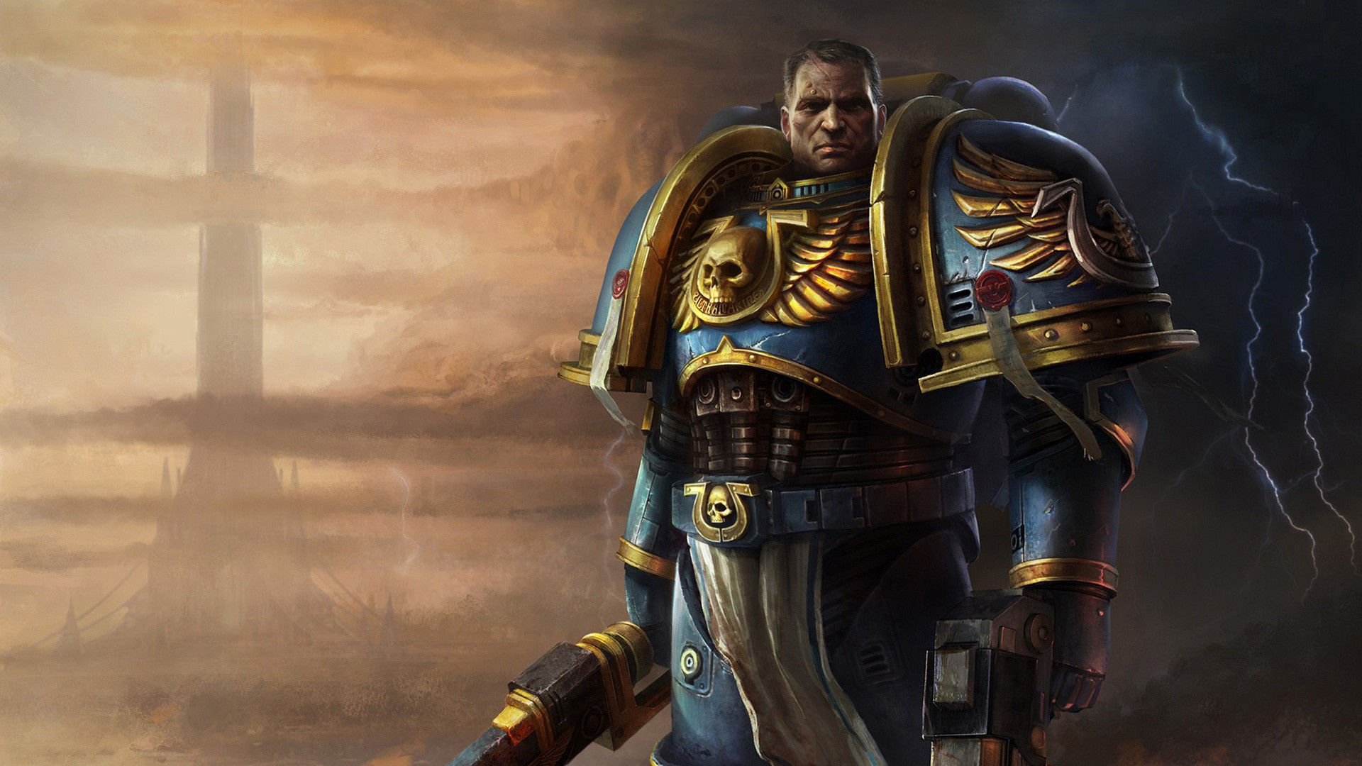 Res: 1920x1080, ... Space Marine wallpaper 3. download wallpaper