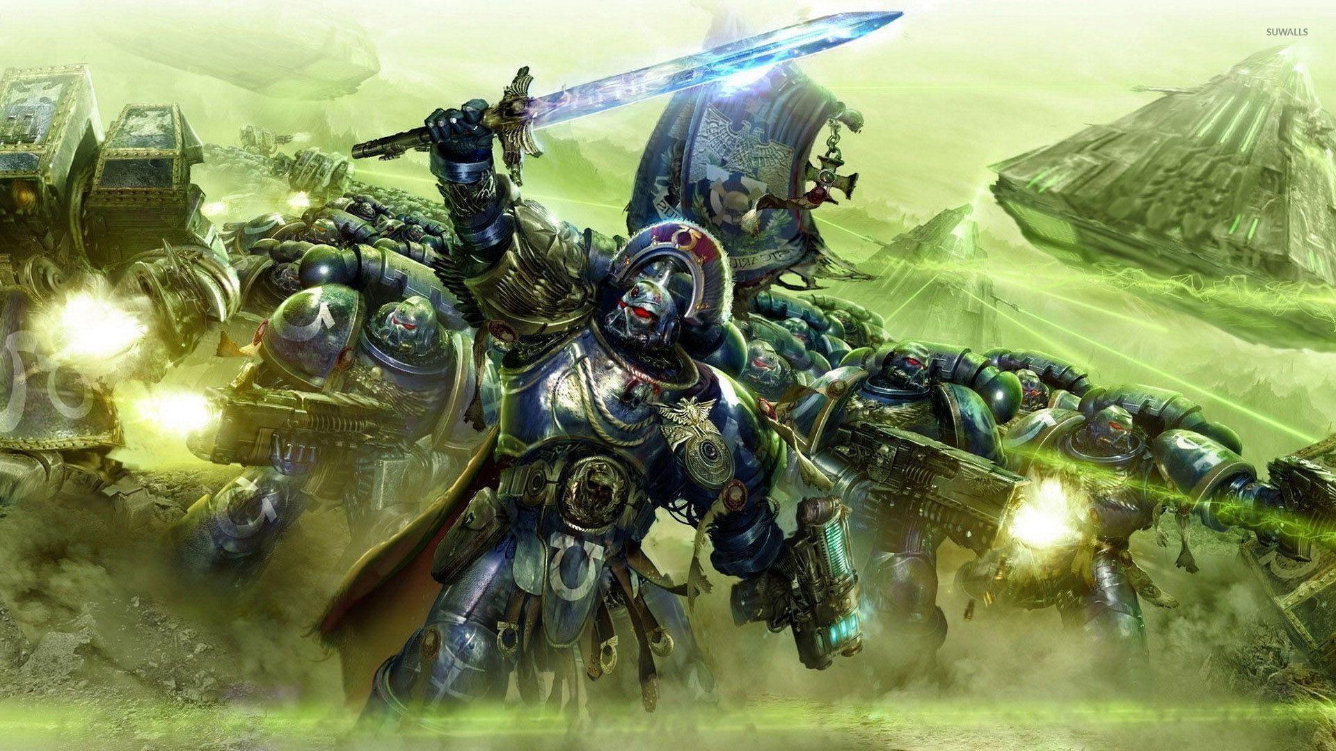 Res: 1920x1080, Ultramarines - Warhammer 40,000 wallpaper  jpg