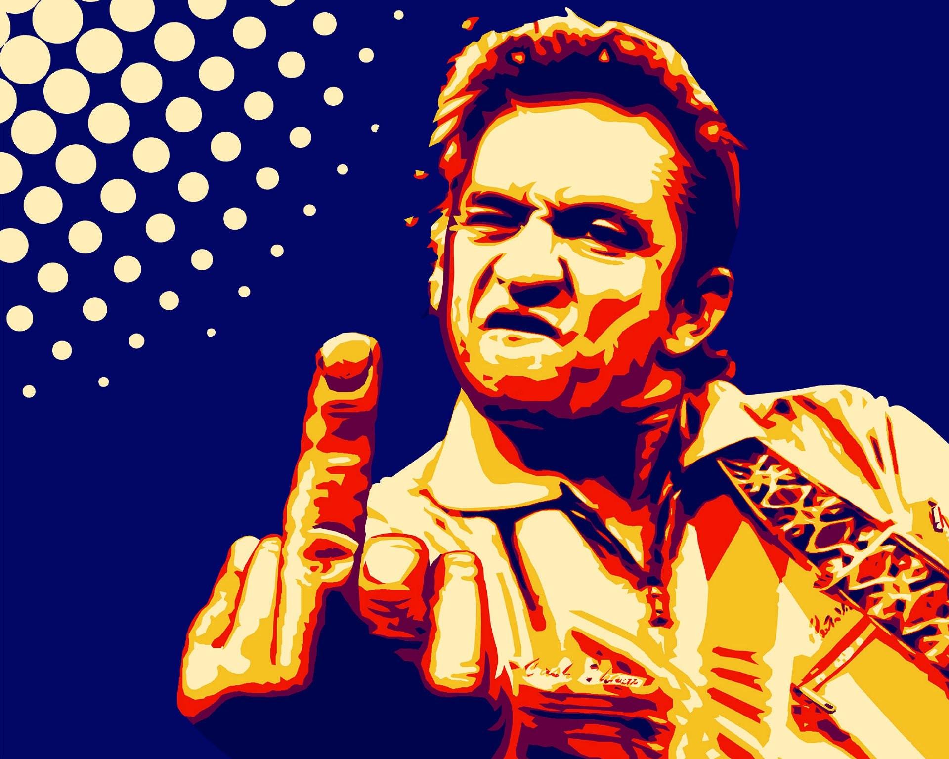 Res: 1920x1536, JOHNNY CASH countrywestern country western blues singer 1jcash actor folk  rockabilly gospel rock roll finger sadic wallpaper |  | 635236 |  ...
