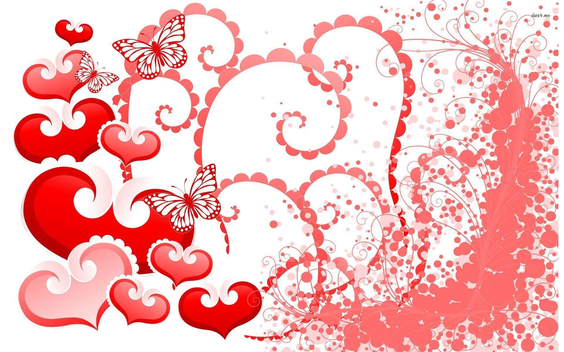 Res: 1920x1200, ... Red Butterflies wallpaper  ...