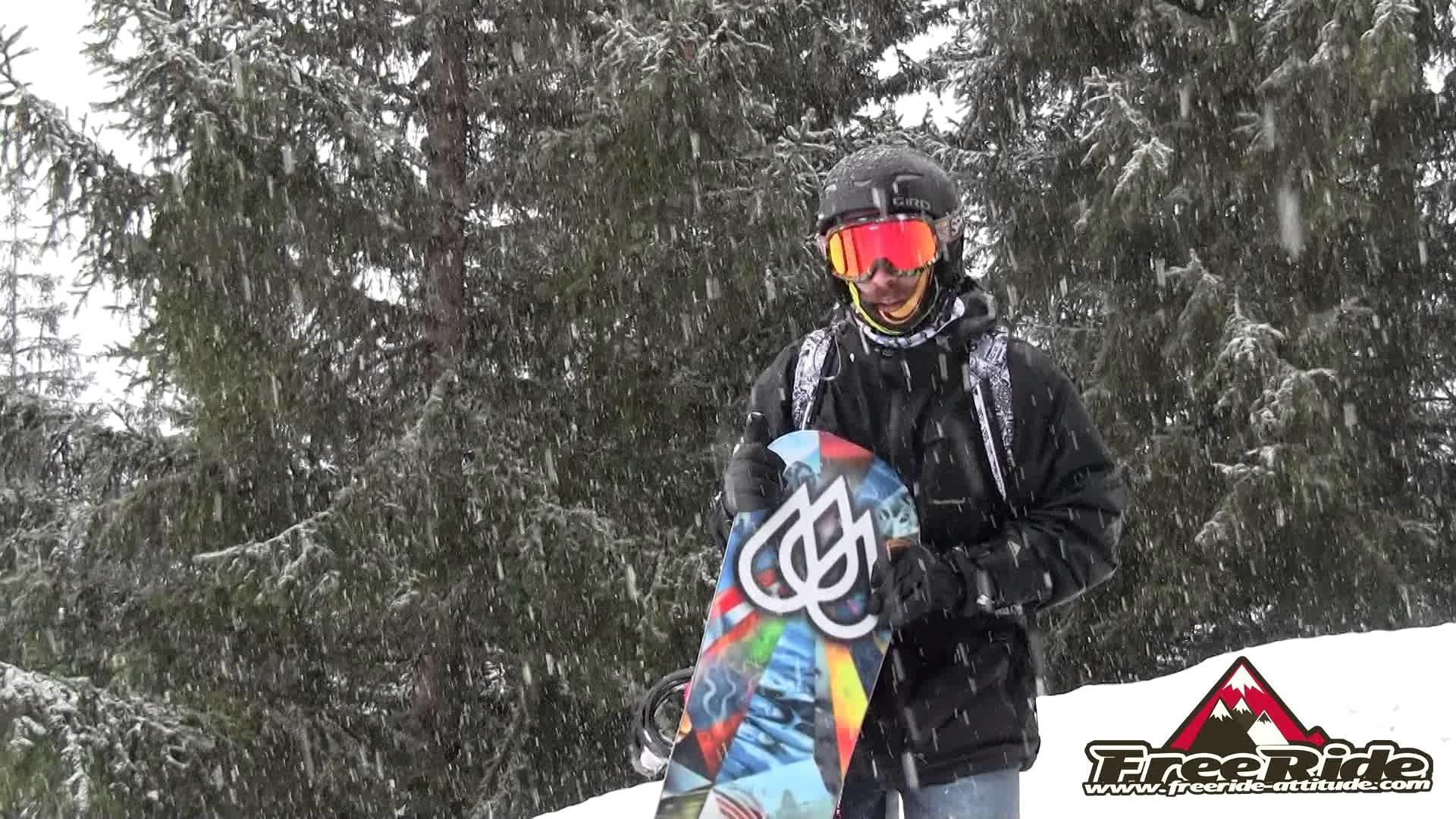 Res: 1920x1080, Test Snowboard Lib-Tech T Rice pro Horsepower 2015