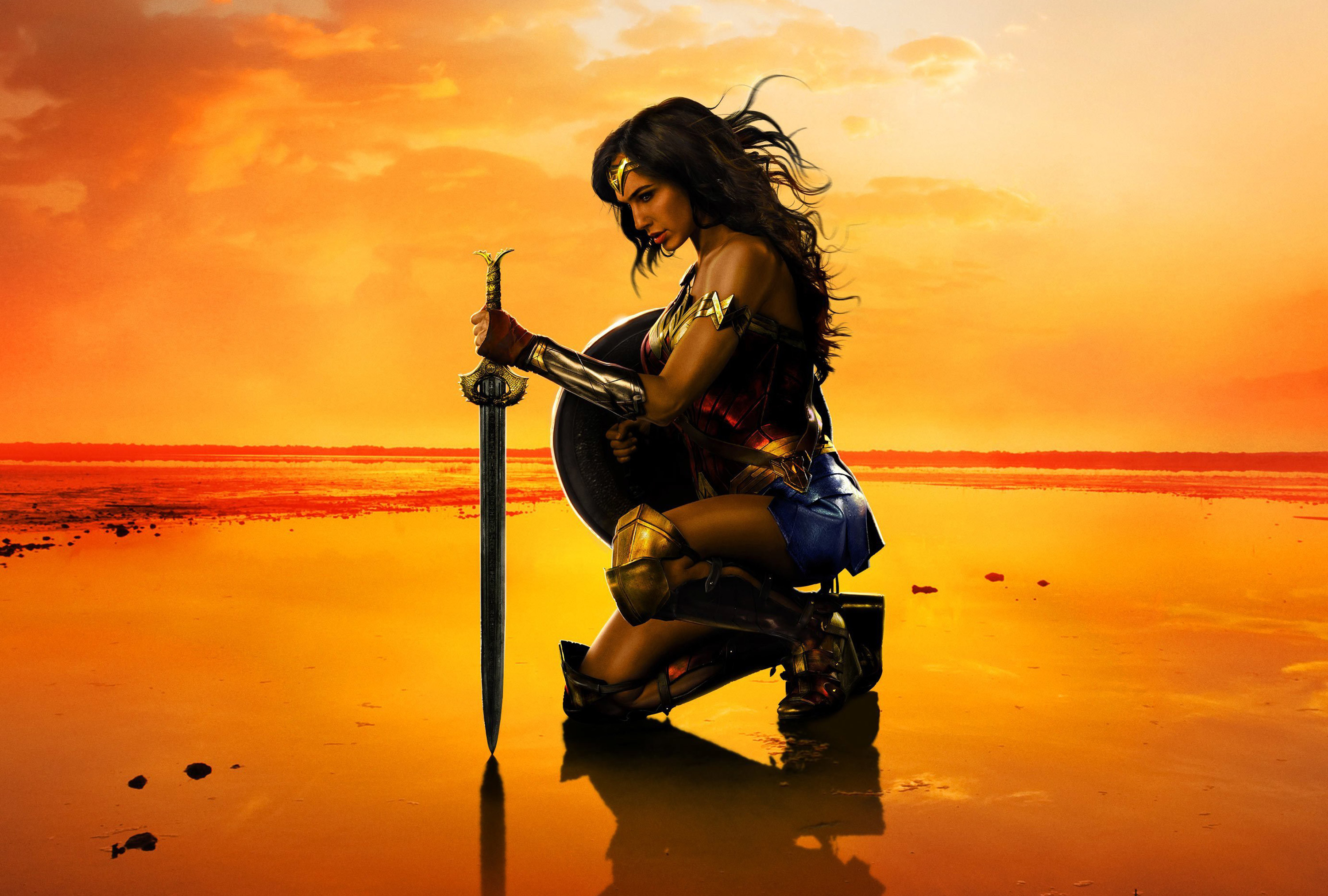 Res: 3000x2024, New Wonder Woman Poster